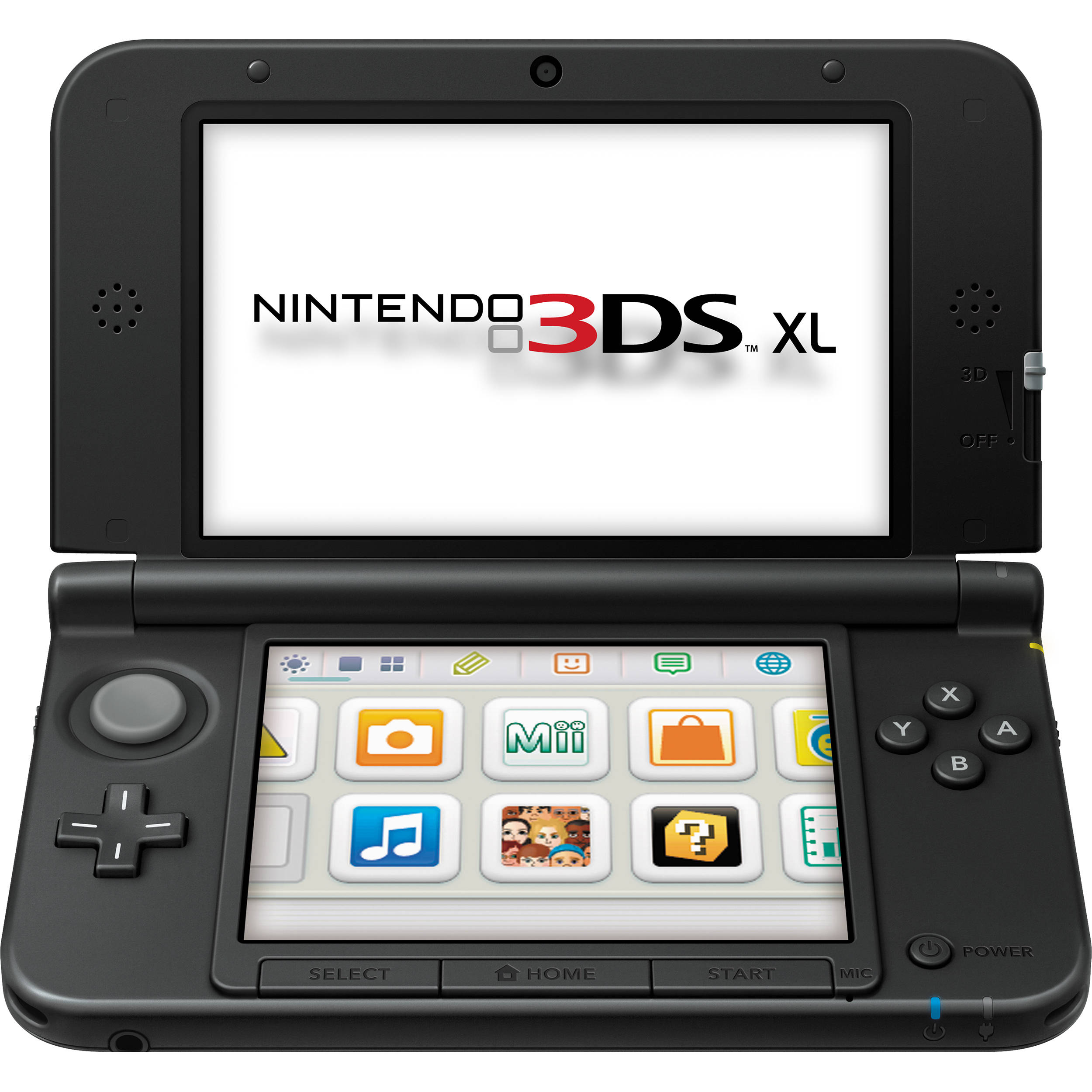 Nintendo 3DS XL Handheld Gaming System (Black) SPRSKKAB B&H