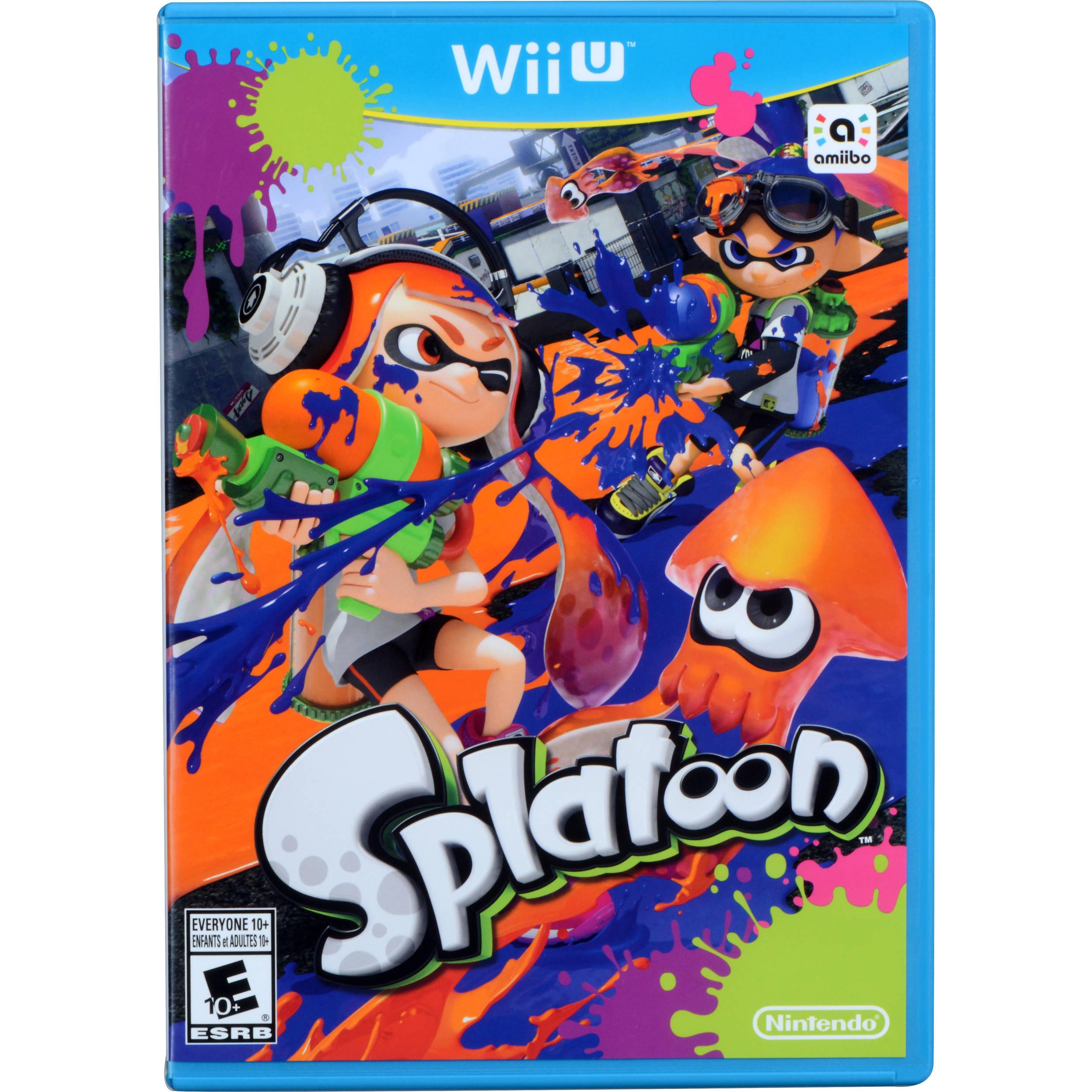 Splatoon - Wii U Game Details, Wiki, Versions  |Splatoon Wii