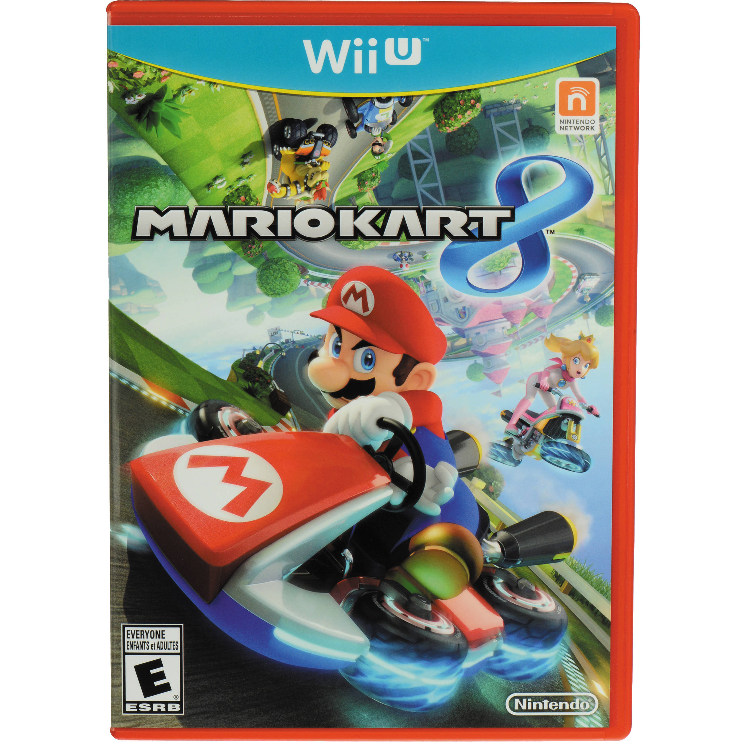 nintendo mario kart 8 wii u wuppamke b h photo video. Black Bedroom Furniture Sets. Home Design Ideas