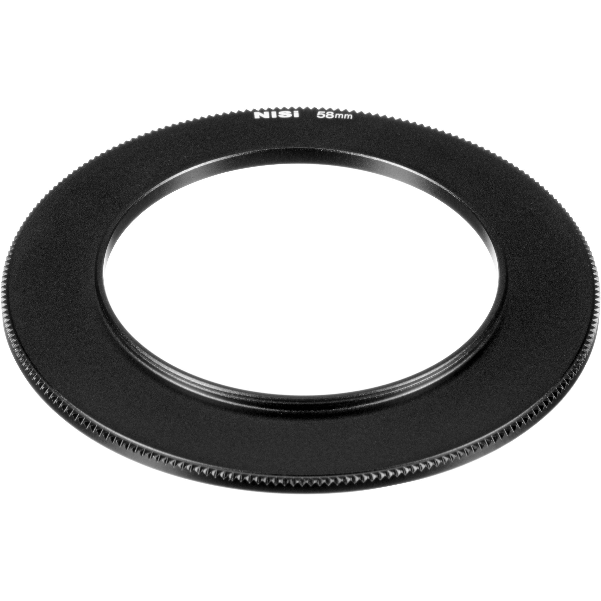Nisi 58 82mm Step Up Ring For C4 Cinema Filter Nip V5 Ad58 Bh 100mm Aluminium Holder Kit Pro And