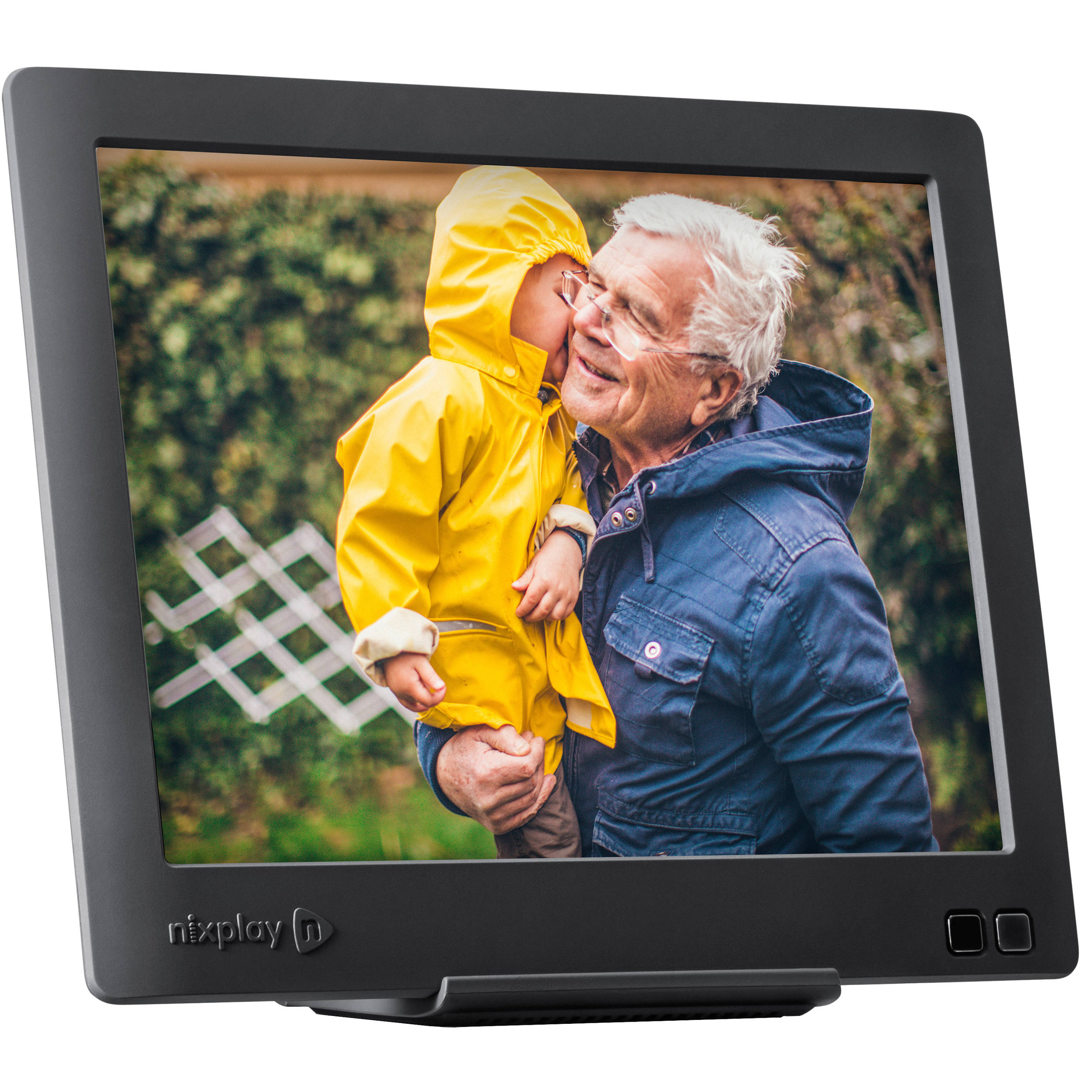 nixplay nixplay Edge Cloud WiFi Digital Picture Frame W08C B&H
