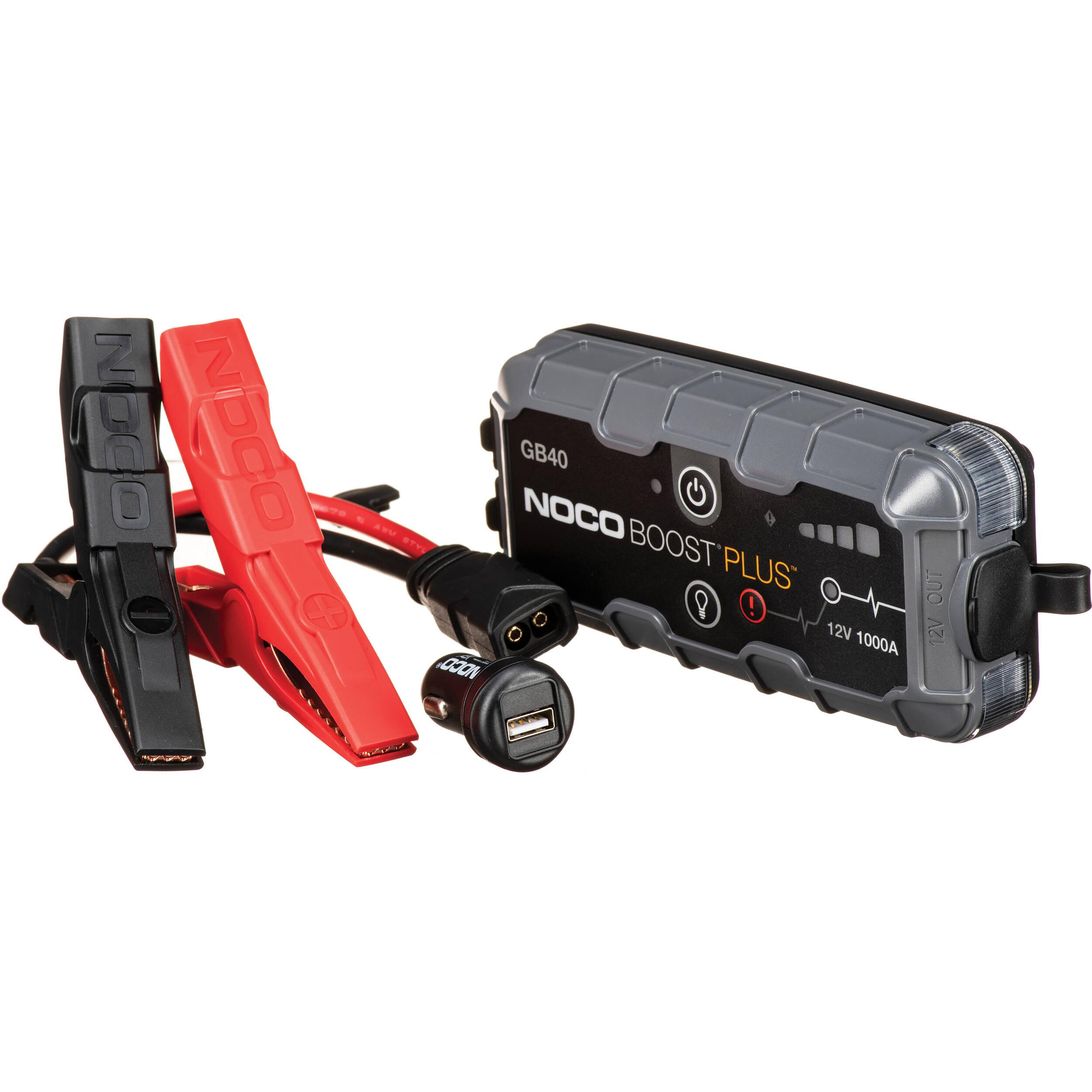 NOCO Genius Boost Plus 1000 Amp UltraSafe Jump Starter &