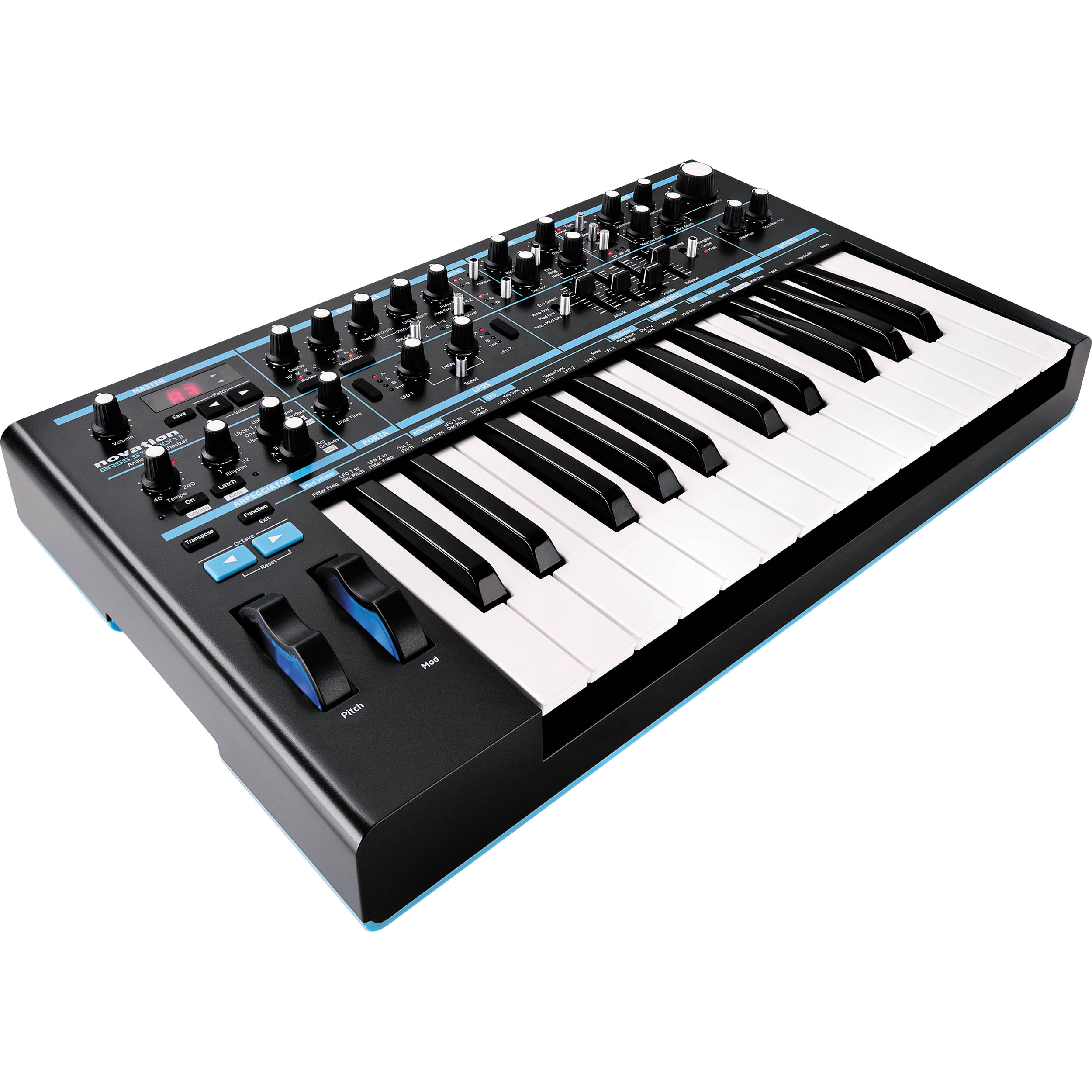 Novation Bass Station 2 : novation bass station ii monophonic analog bass station ii b h ~ Hamham.info Haus und Dekorationen