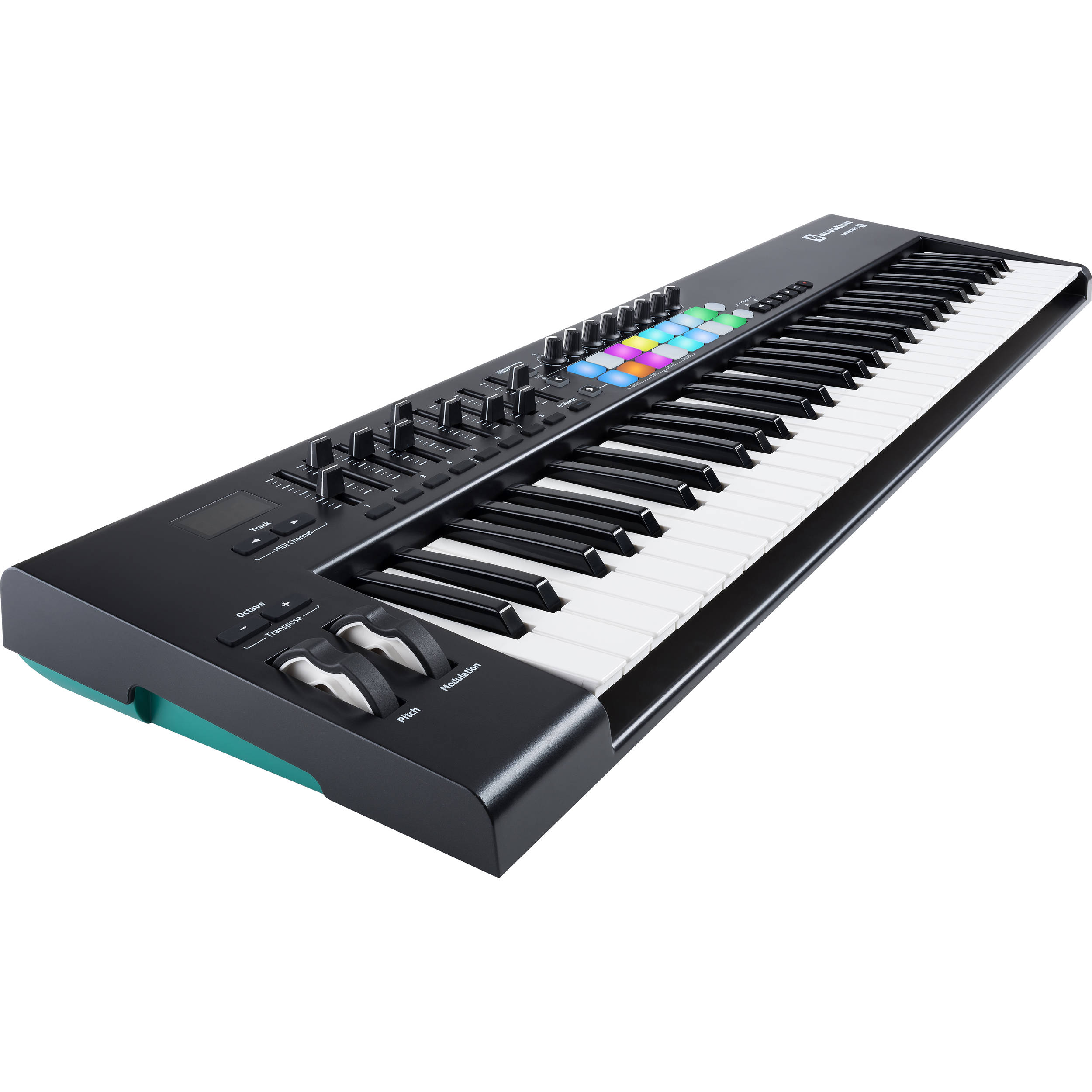 novation launchkey mk2 61 key controller launchkey 61 mk2 b h. Black Bedroom Furniture Sets. Home Design Ideas