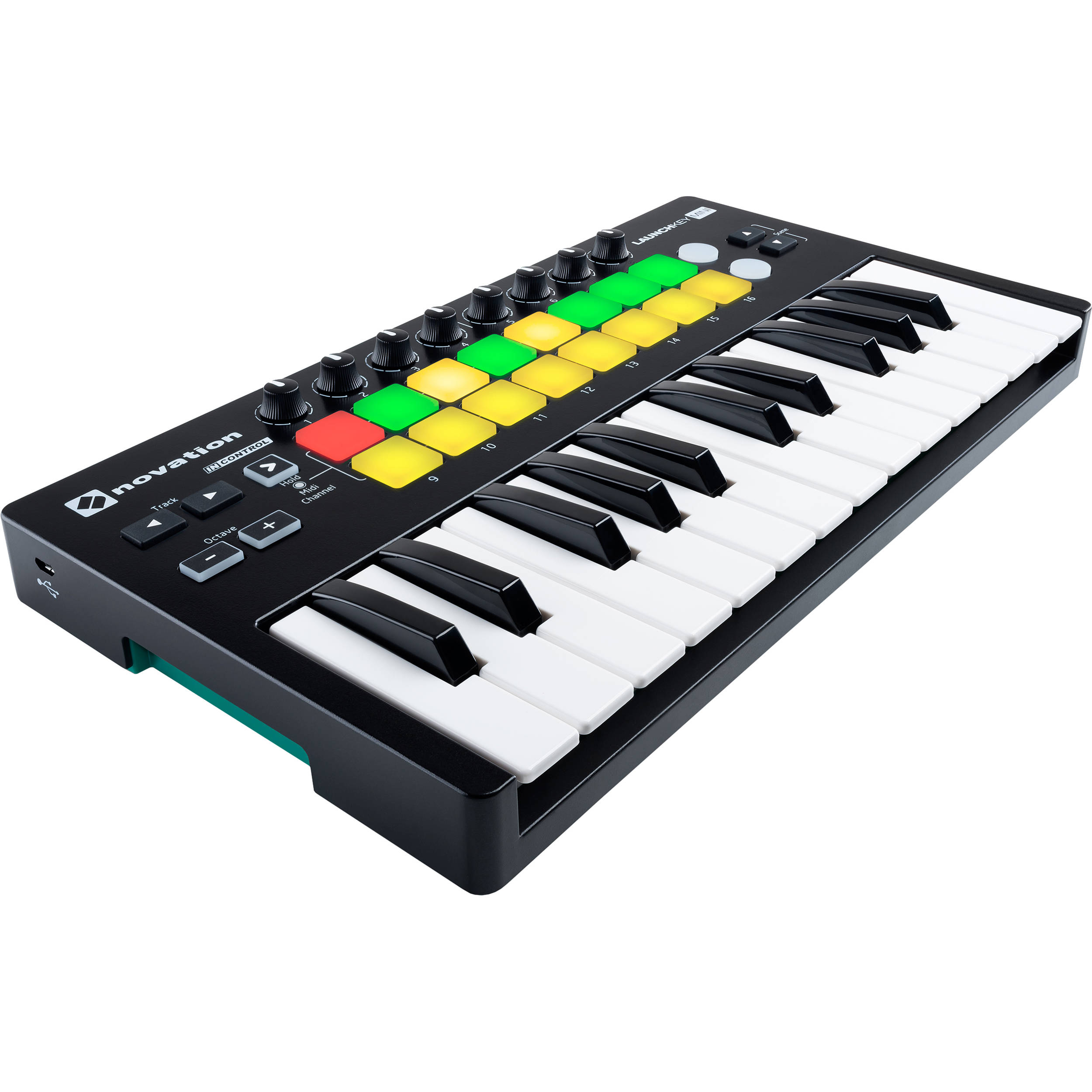 novation launchkey mini mk2 25 key usb midi launchkey mini mk2. Black Bedroom Furniture Sets. Home Design Ideas