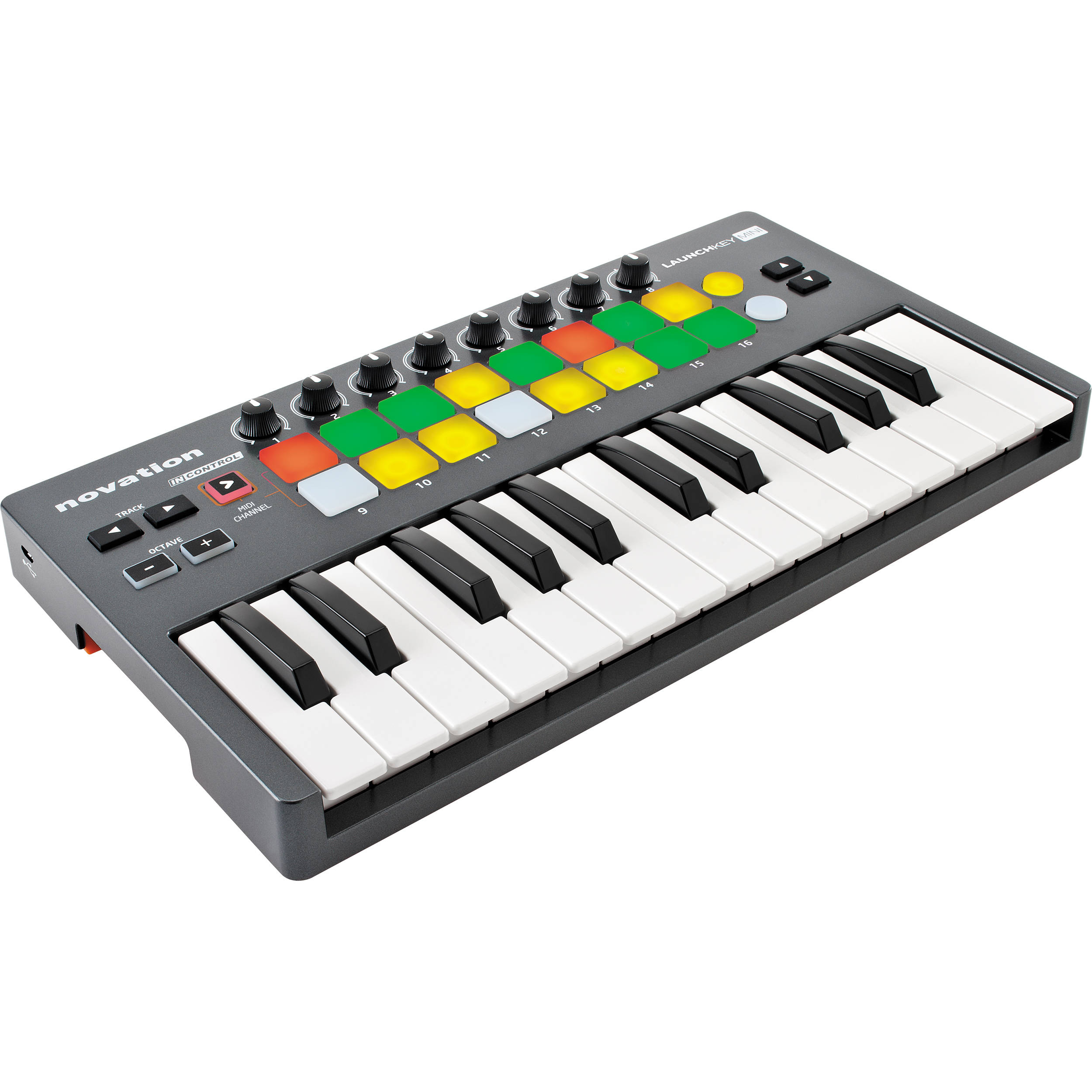 novation launchkey mini 25 key usb midi controller. Black Bedroom Furniture Sets. Home Design Ideas