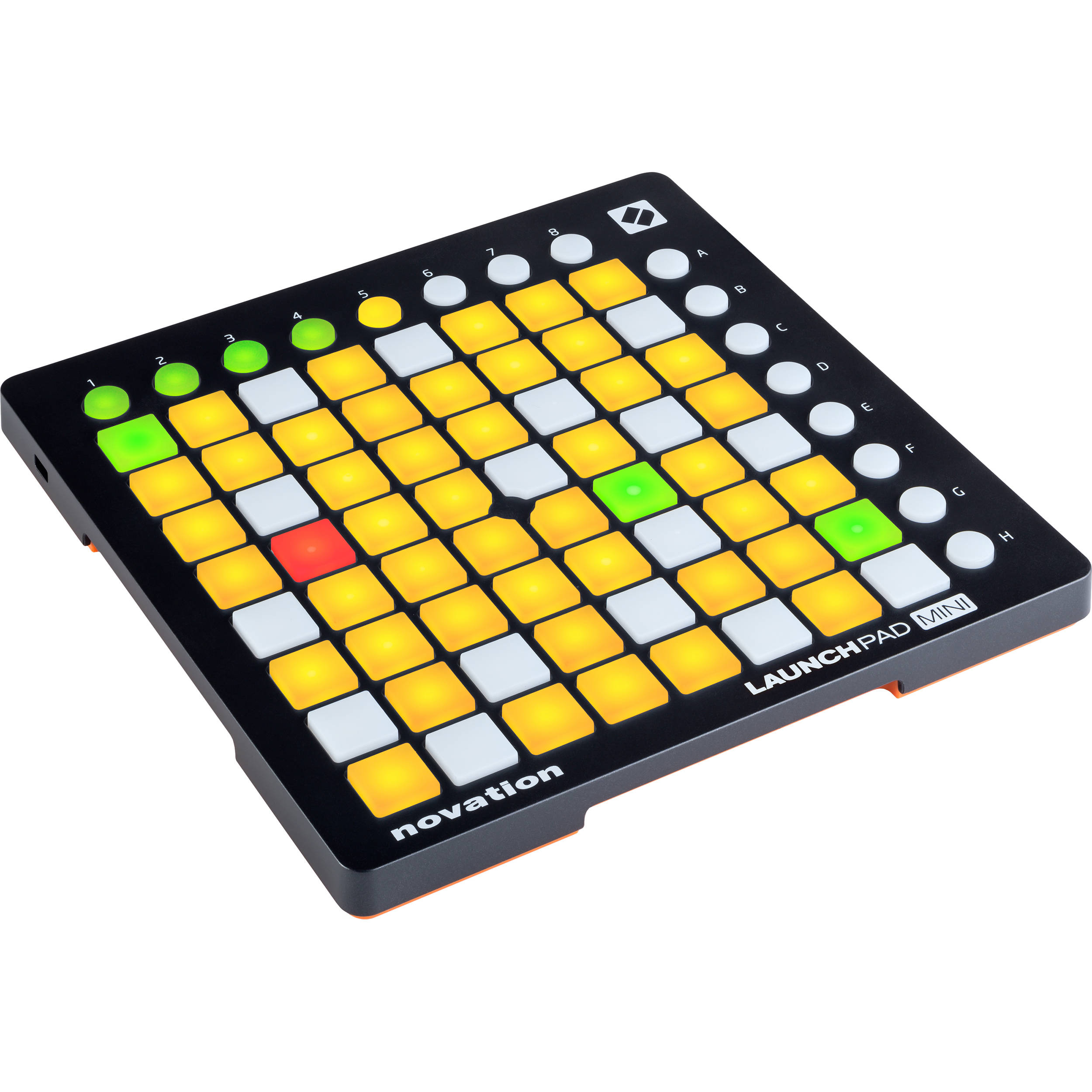 novation launchpad mini mk2 ableton live launchpad mini mk2 b h. Black Bedroom Furniture Sets. Home Design Ideas