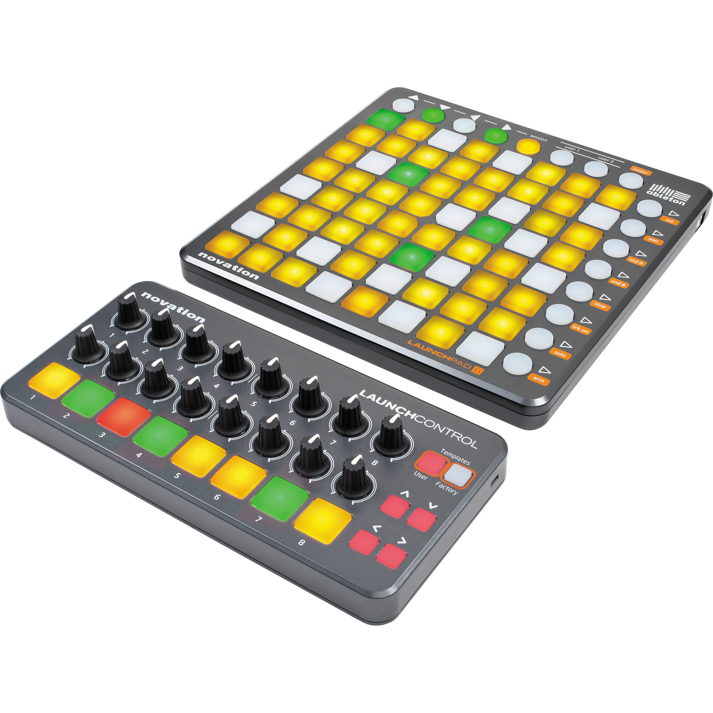 novation launchpad s control pack launchpad s control pack b h. Black Bedroom Furniture Sets. Home Design Ideas