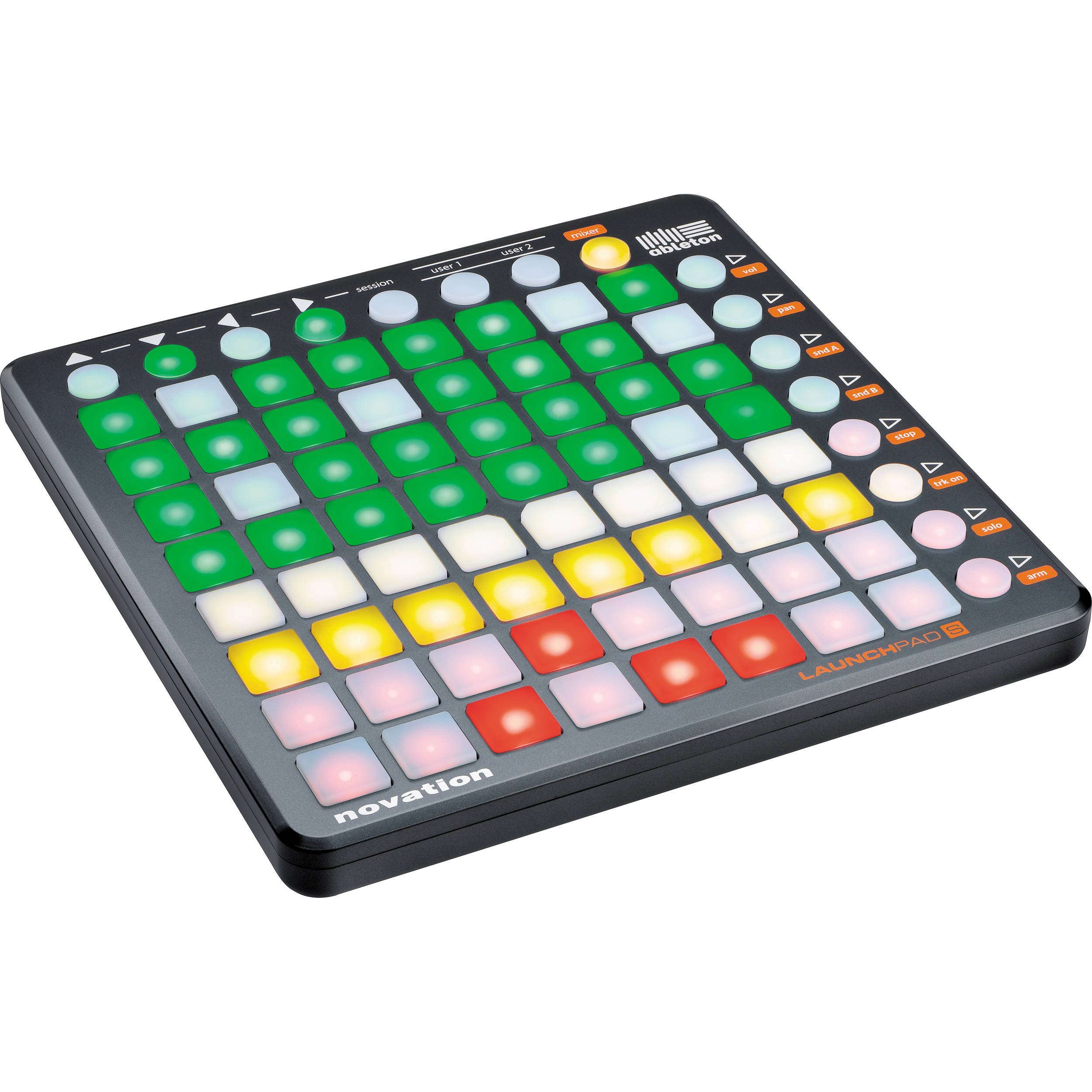 novation launchpad s ableton live controller launchpad s b h. Black Bedroom Furniture Sets. Home Design Ideas