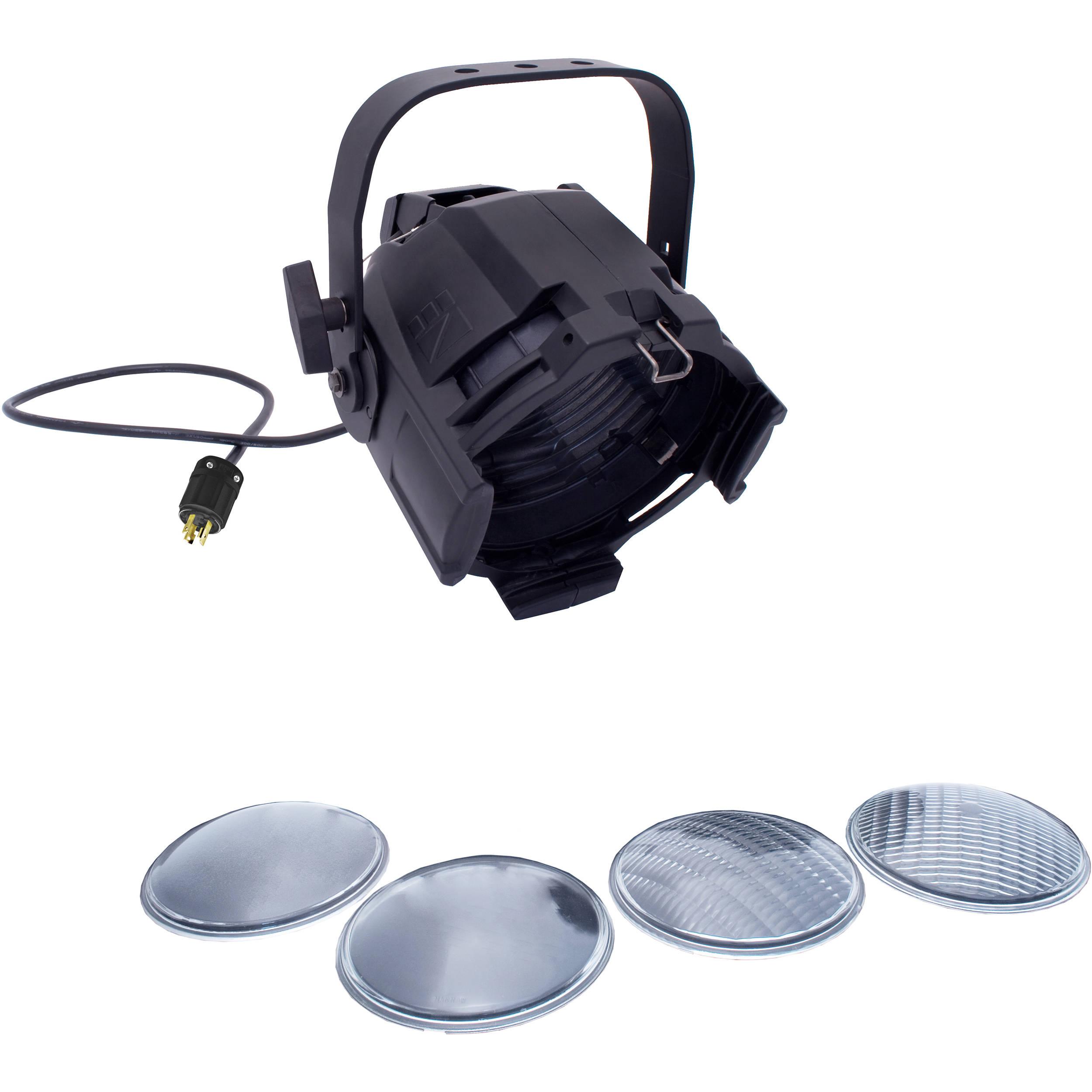 Nsi Leviton Multi Lens Par With 4 Lenses And 5 15p Parml0130pb