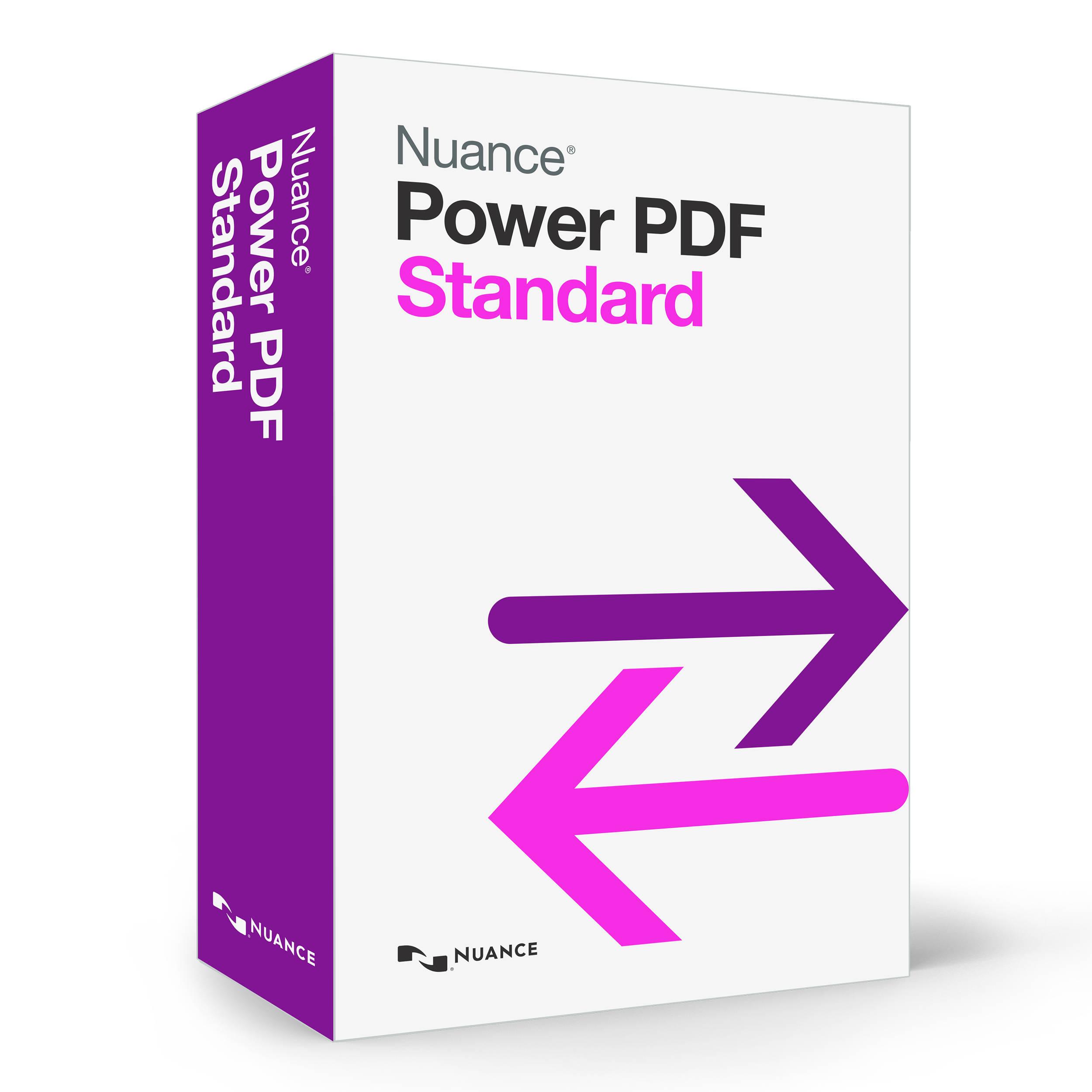 Nuance Power Pdf Standard As09a G00 10 Bh Photo Video