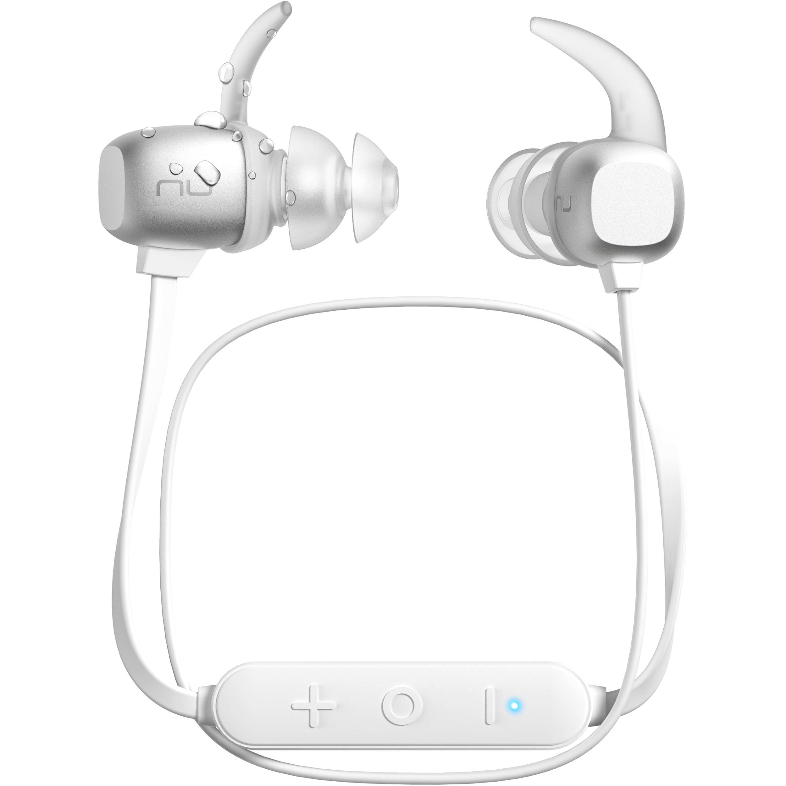 8eee5034860 NuForce BE Sport4 Wireless In-Ear Headphones BESPORT4-SILVER B&H