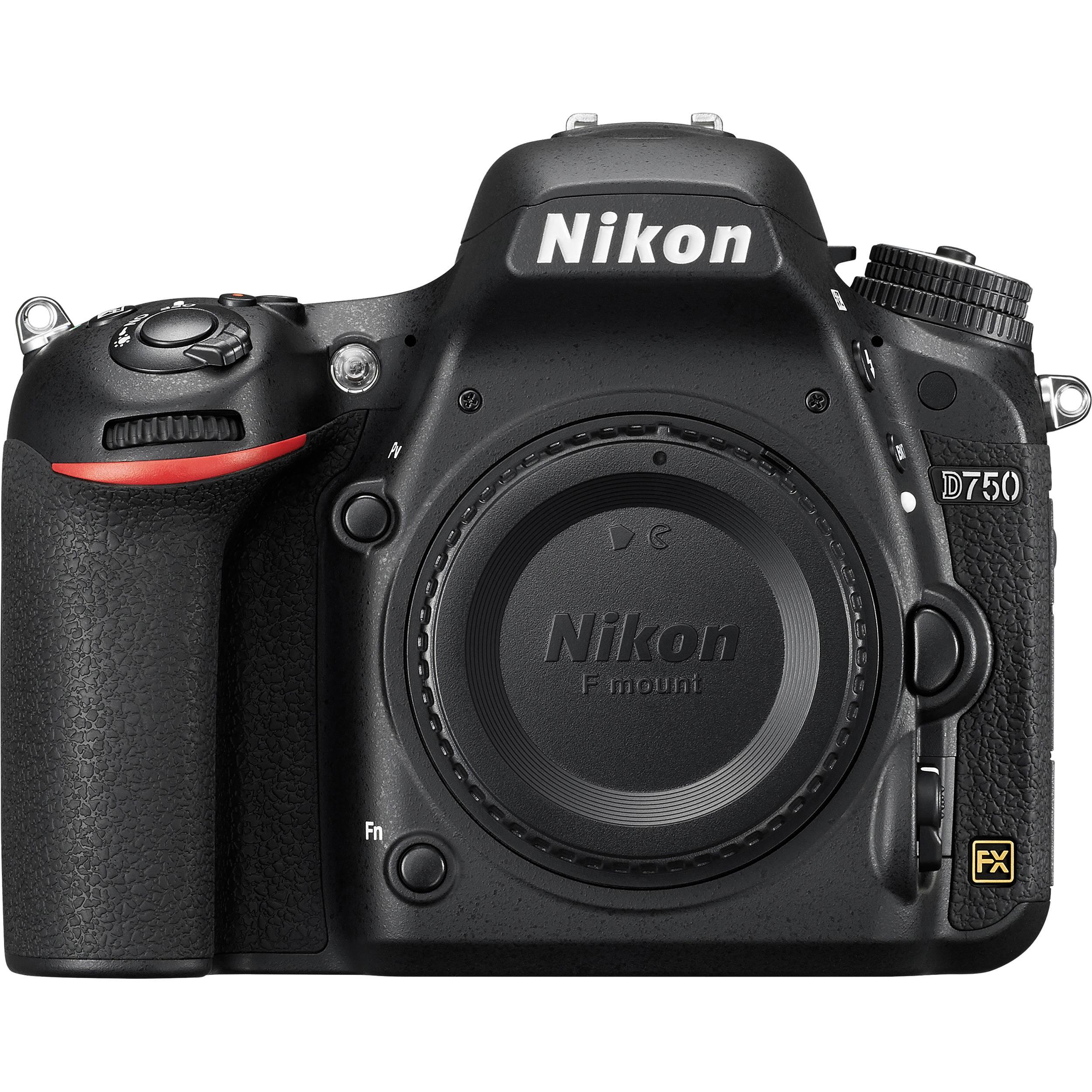 Nikon D750 DSLR Camera (Body Only) 1543 B&H Photo Video