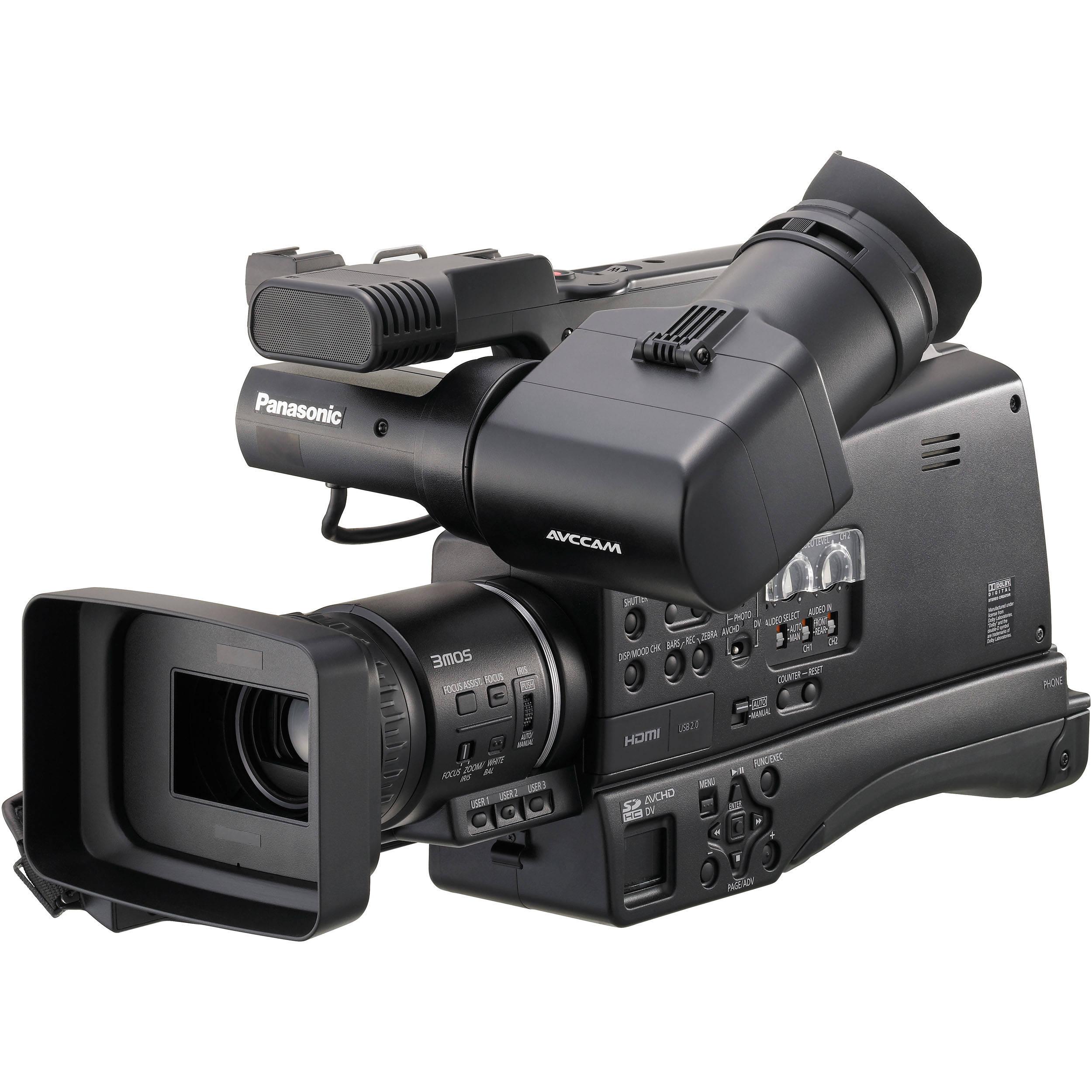 used panasonic ag hmc80 3mos avccam hd shoulder mount aghmc80pj rh bhphotovideo com AVCHD Camcorder Panasonic AG HMC40 Panasonic HMC-150
