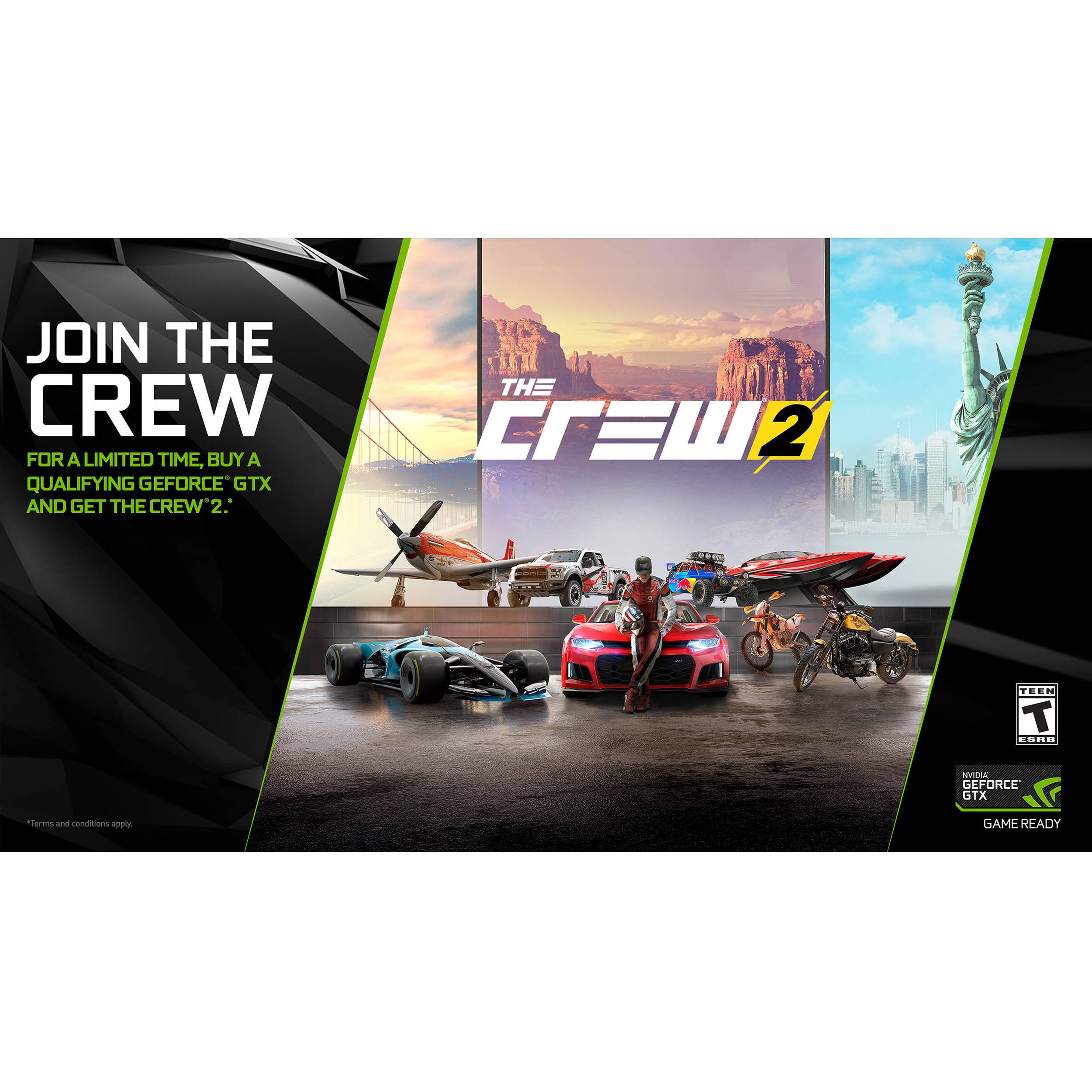 nvidia the crew 2 download the crew 2 b h photo video. Black Bedroom Furniture Sets. Home Design Ideas