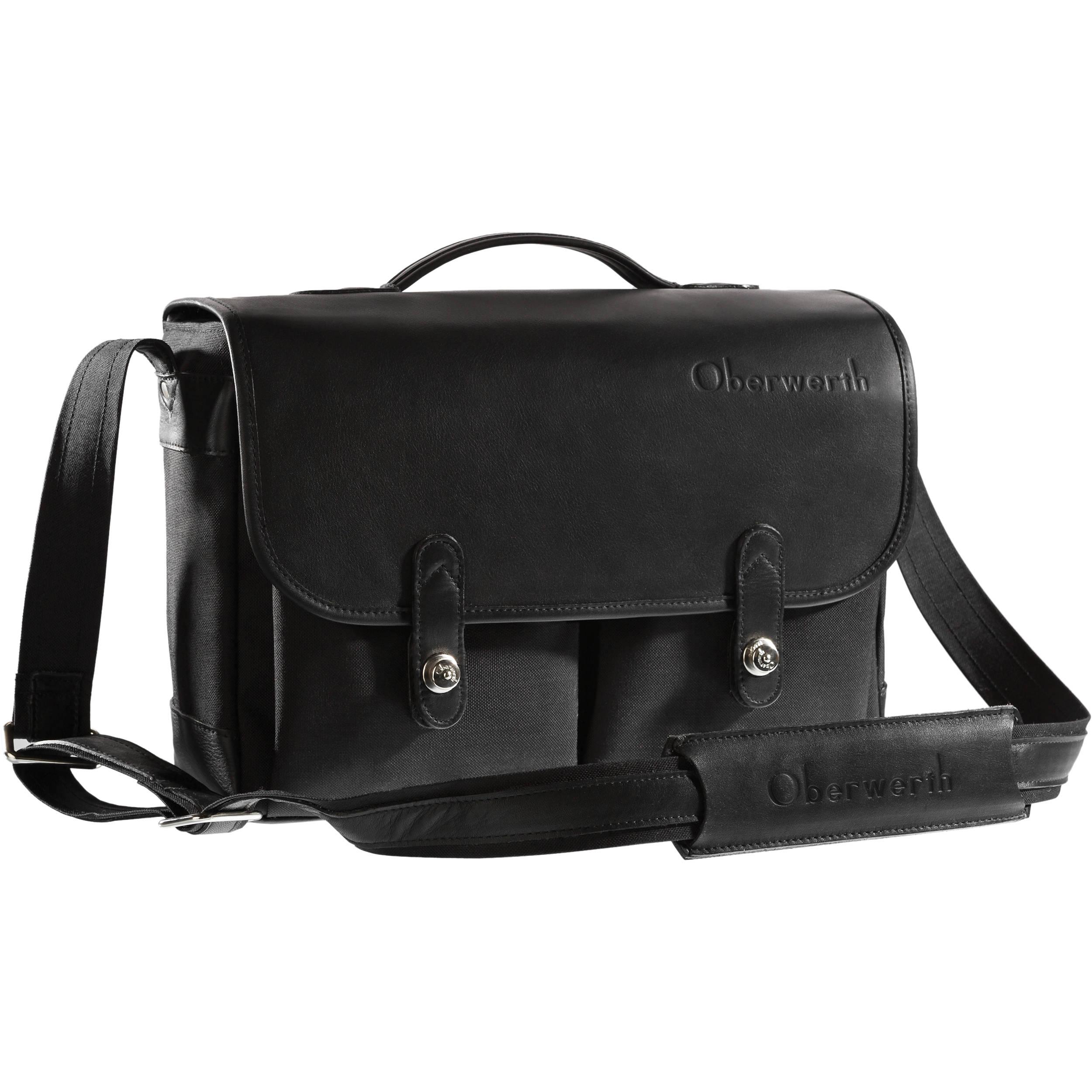 Oberwerth Munchen Large Camera Bag Black