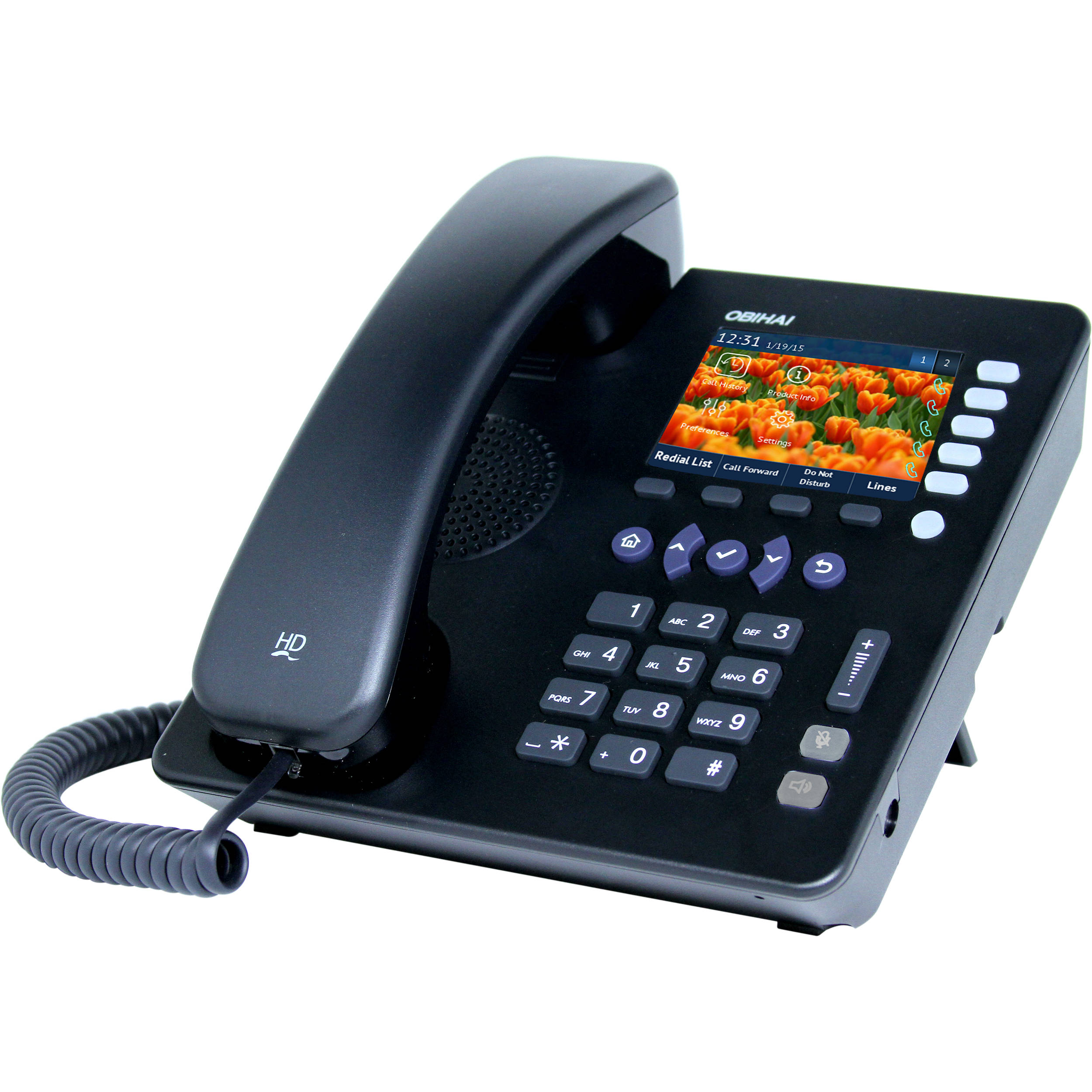 Obihai Technology Obi1022 10 Line Ip Phone With Power Obi1022pa Telephones Connected To 2 Will Now See The Voip Adapter As They Supply