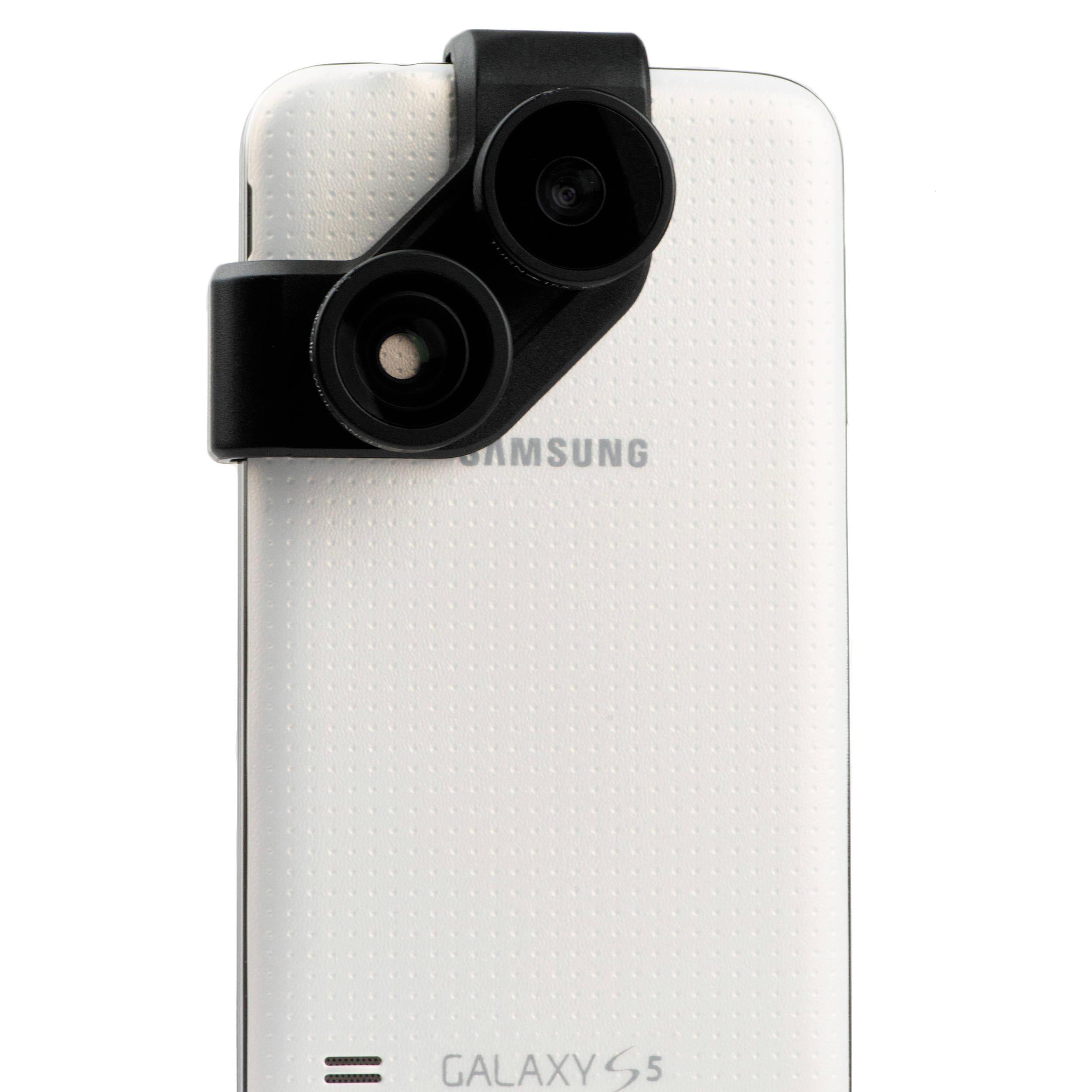 olloclip 4-in-1 Photo Lens for Samsung Galaxy S5 (Black Lens Black Clip) ffdf01d5d06