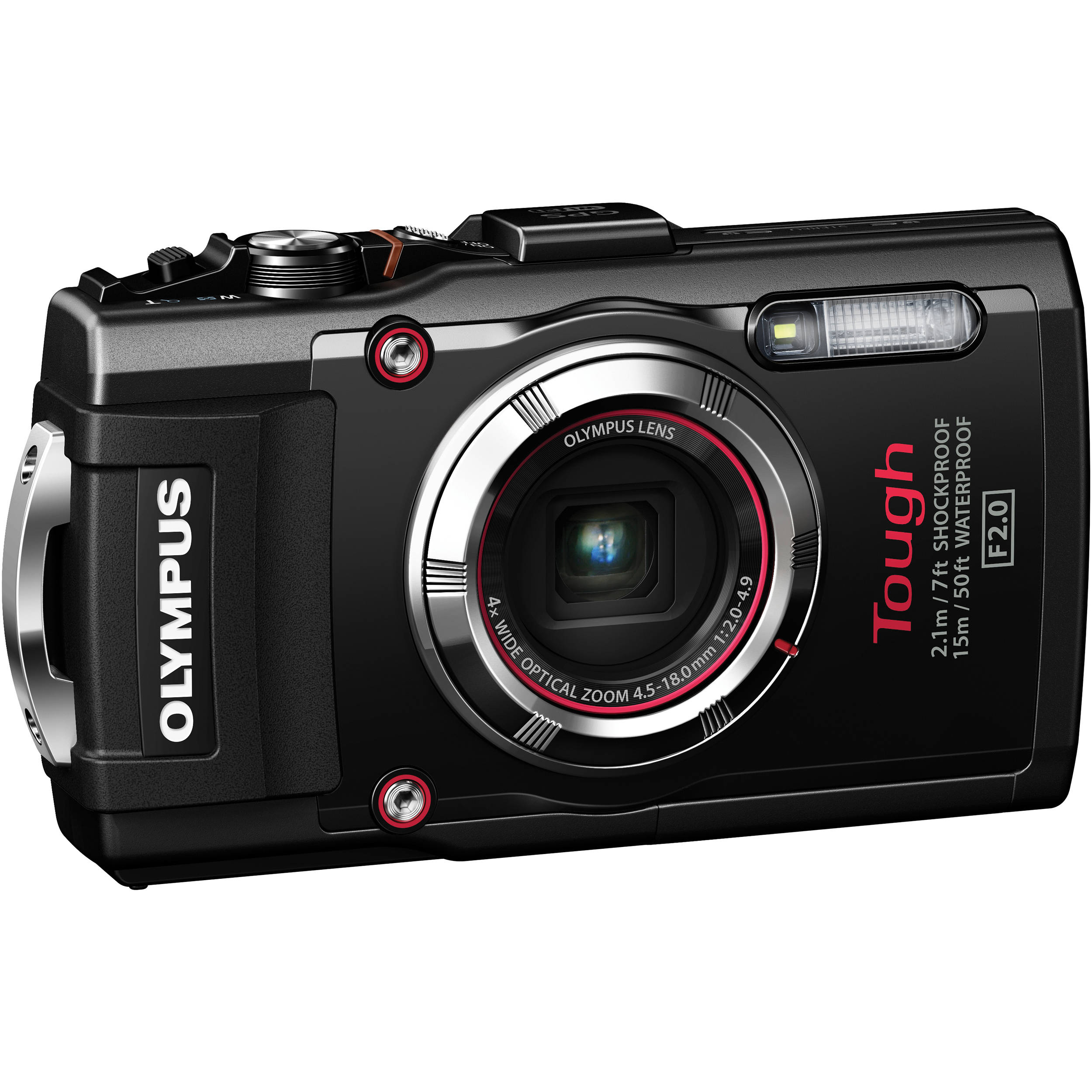 Olympus Digital Camera: Olympus Stylus TOUGH TG-3 Digital Camera (Black) V104140BU000