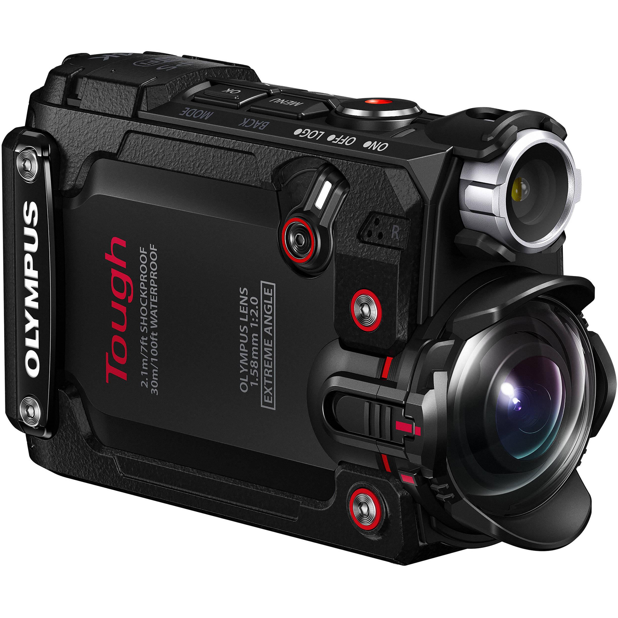 Olympus Stylus Tough Tg Tracker Action Camera Black