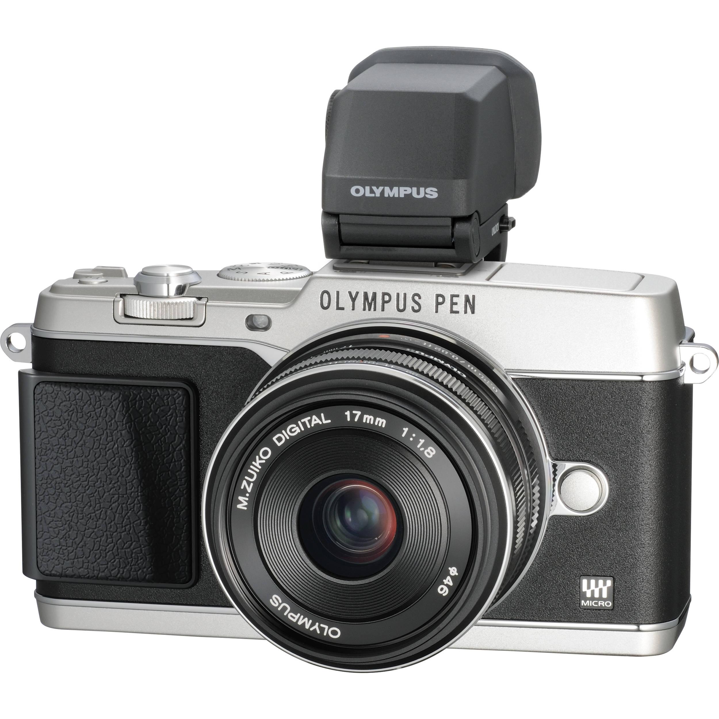 Olympus Digital Camera: Olympus PEN E-P5 Mirrorless Micro Four Thirds V204053SU000 B&H