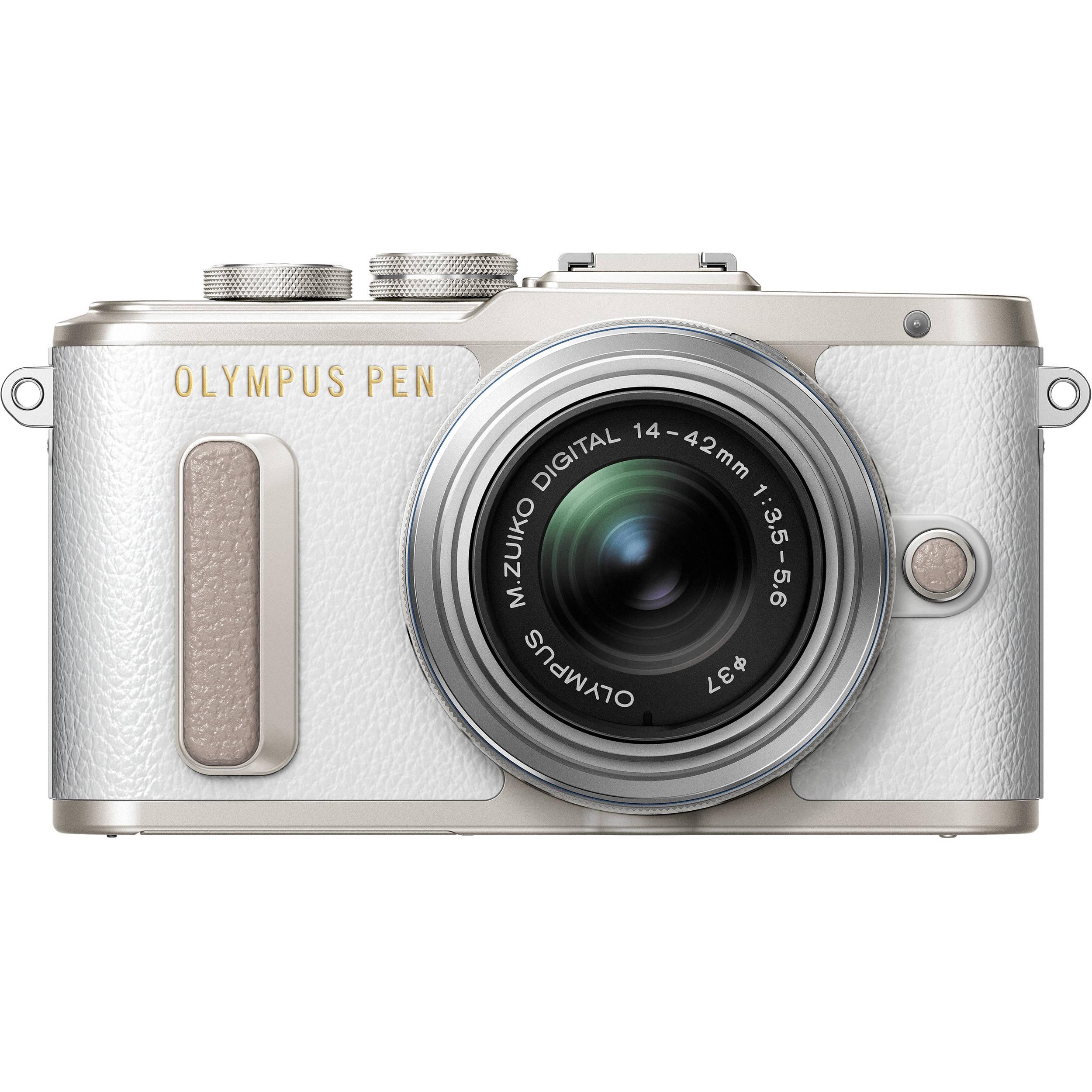 Olympus PEN E-PL8 Mirrorless Micro Four Thirds V205081WU000 B&H
