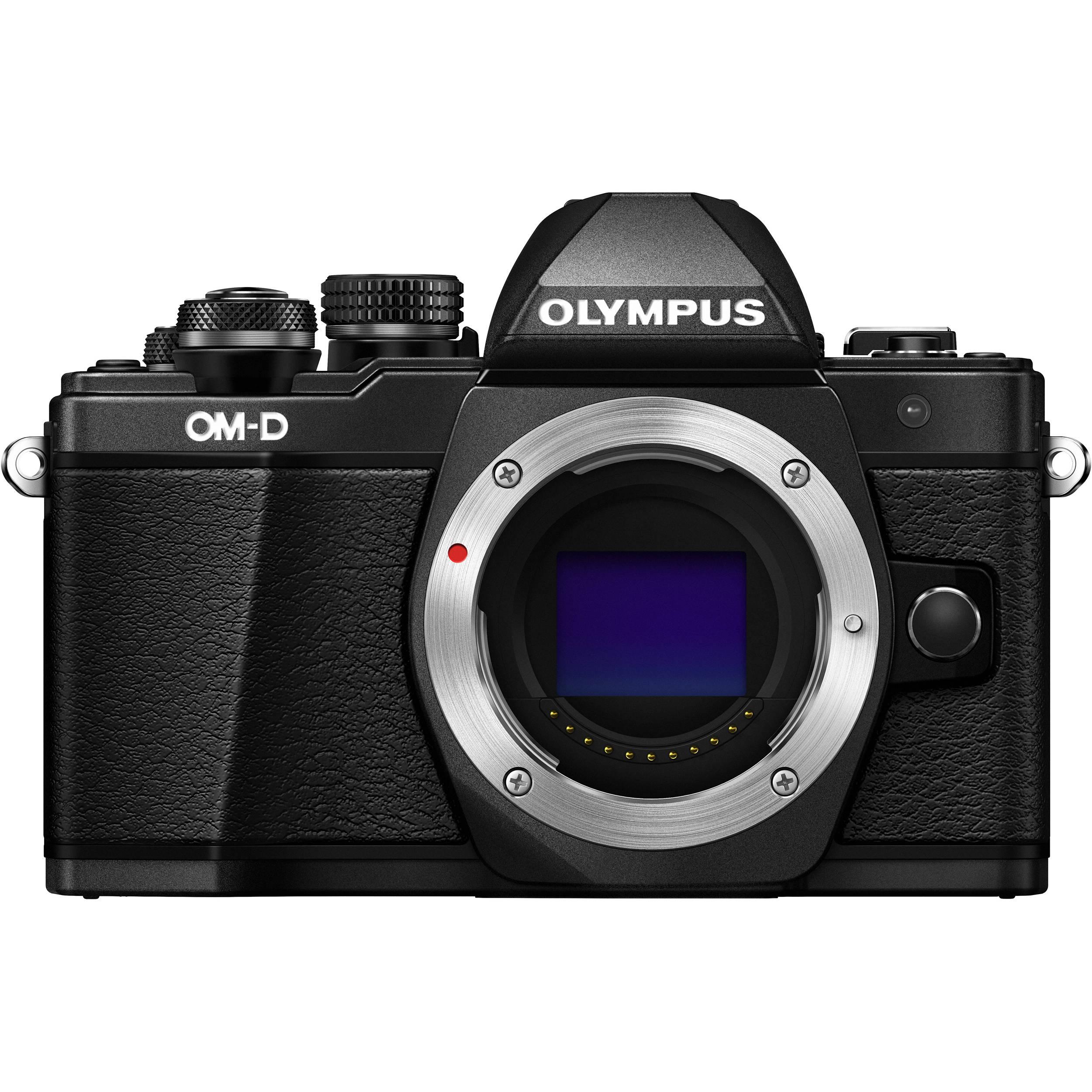 Olympus OM-D E-M10 Mark II Mirrorless Micro Four Thirds Digital Camera (