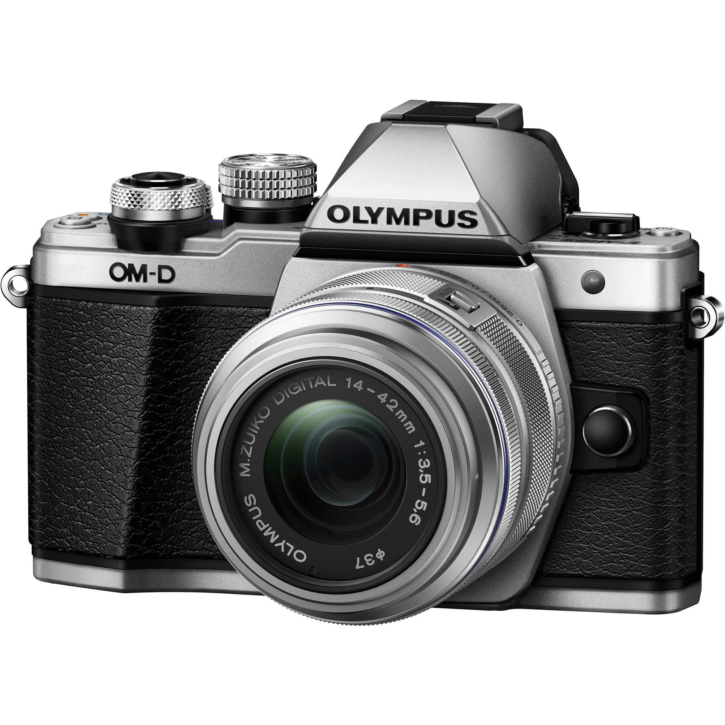 Olympus Digital Camera 5 Olympus OM-D E-M10 Mark II Mirrorless Micro Four Thirds Digital Camera with  14-42mm II R Lens (Silver)