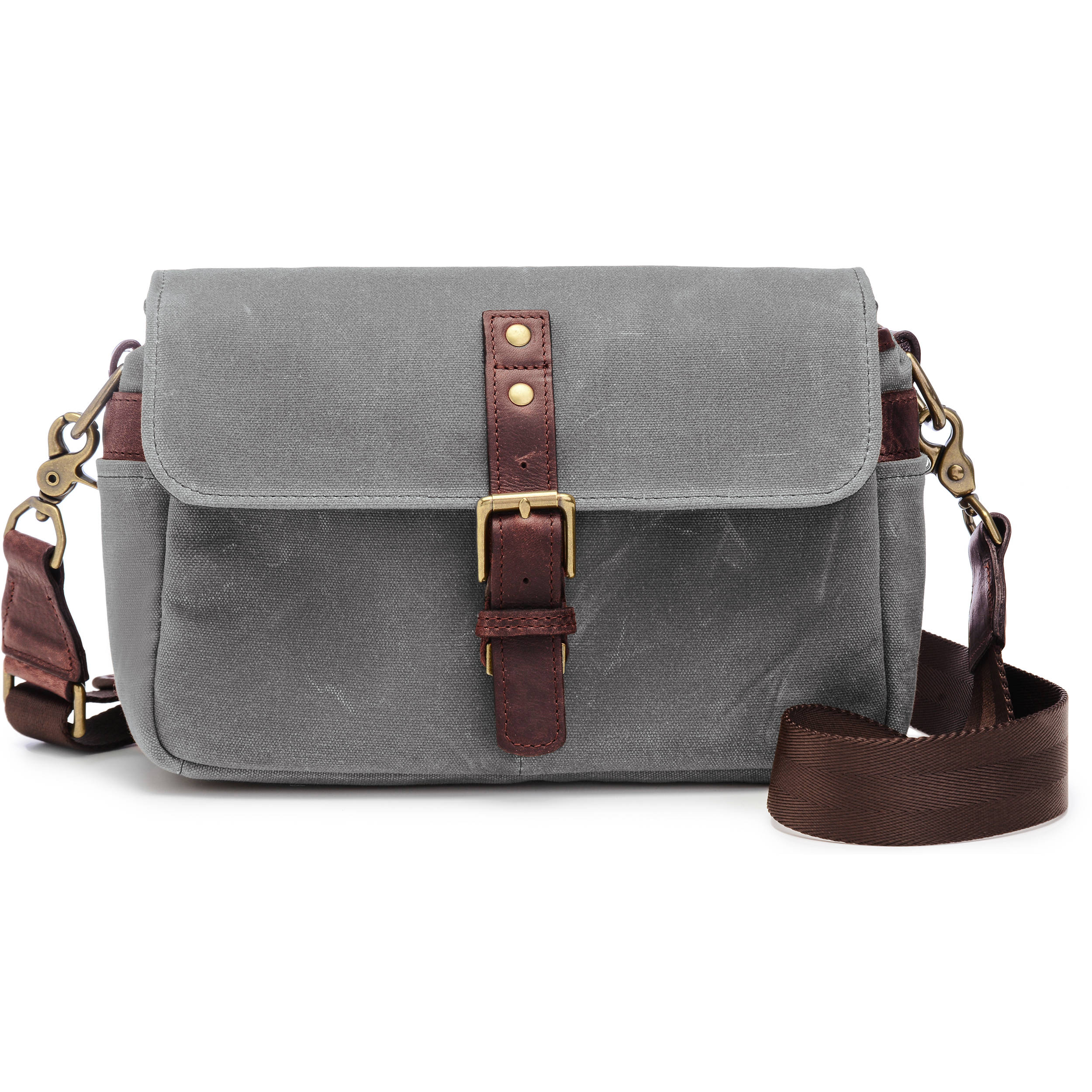 ONA Bowery Camera Bag (Canvas, Smoke) ONA5-014GR B&H Photo Video