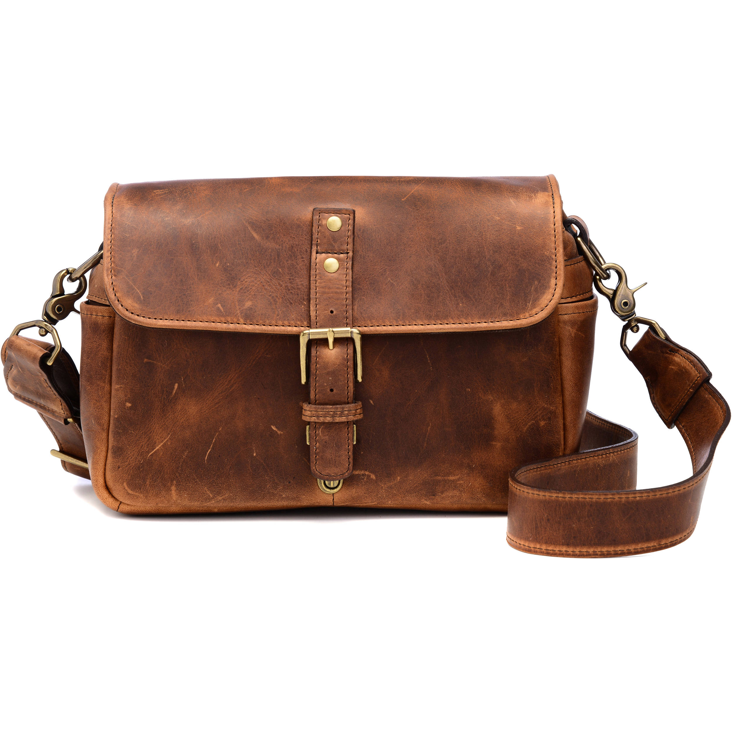 ONA Bowery Camera Bag (Leather, Antique Cognac) ONA5-014LBR B&H