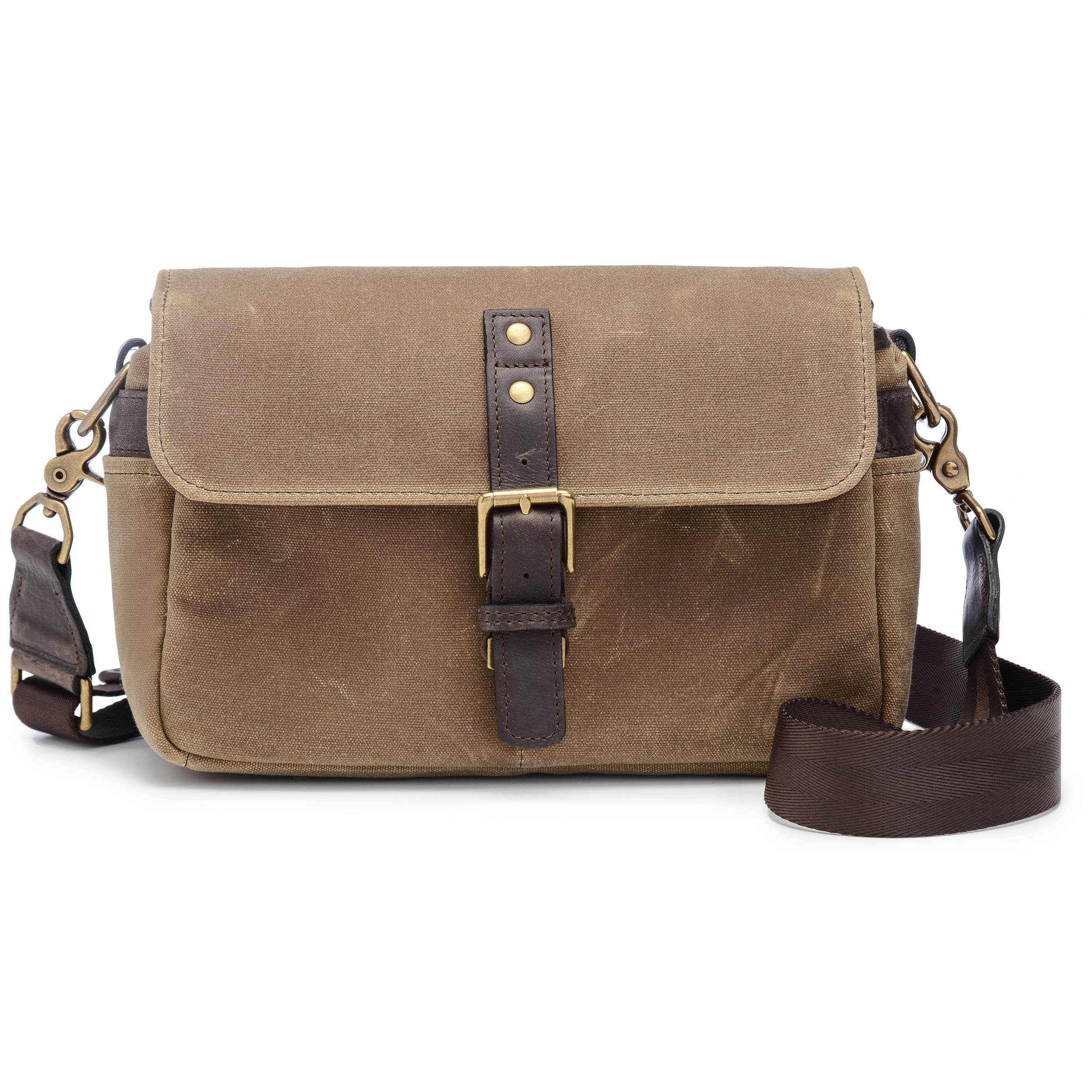 Ona Bowery Camera Bag Canvas Field Tan