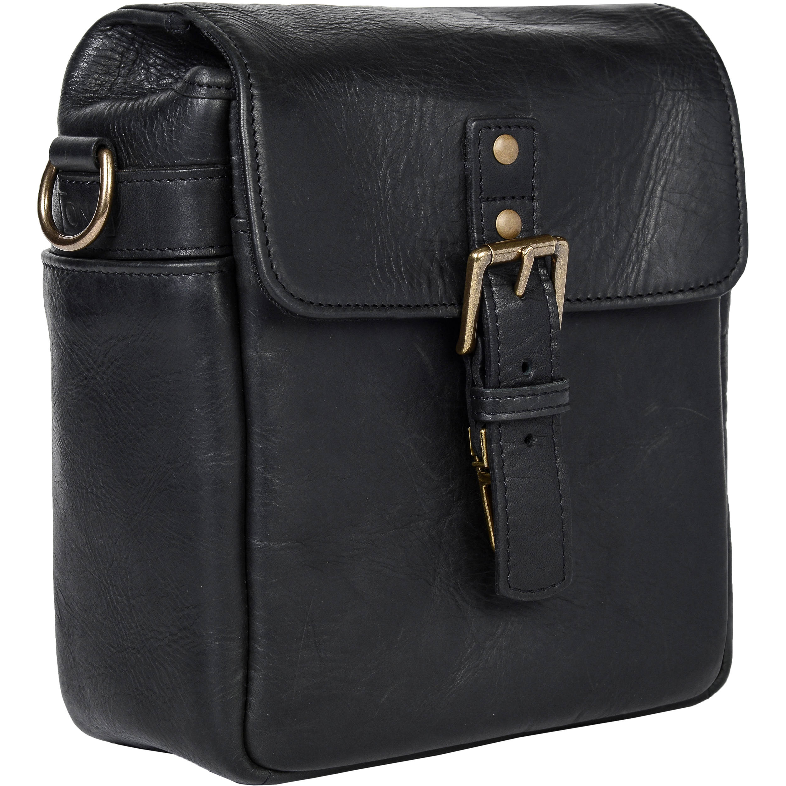 ONA Bond Street Leather Camera Bag (Black) ONA5-064LBL B&H ...