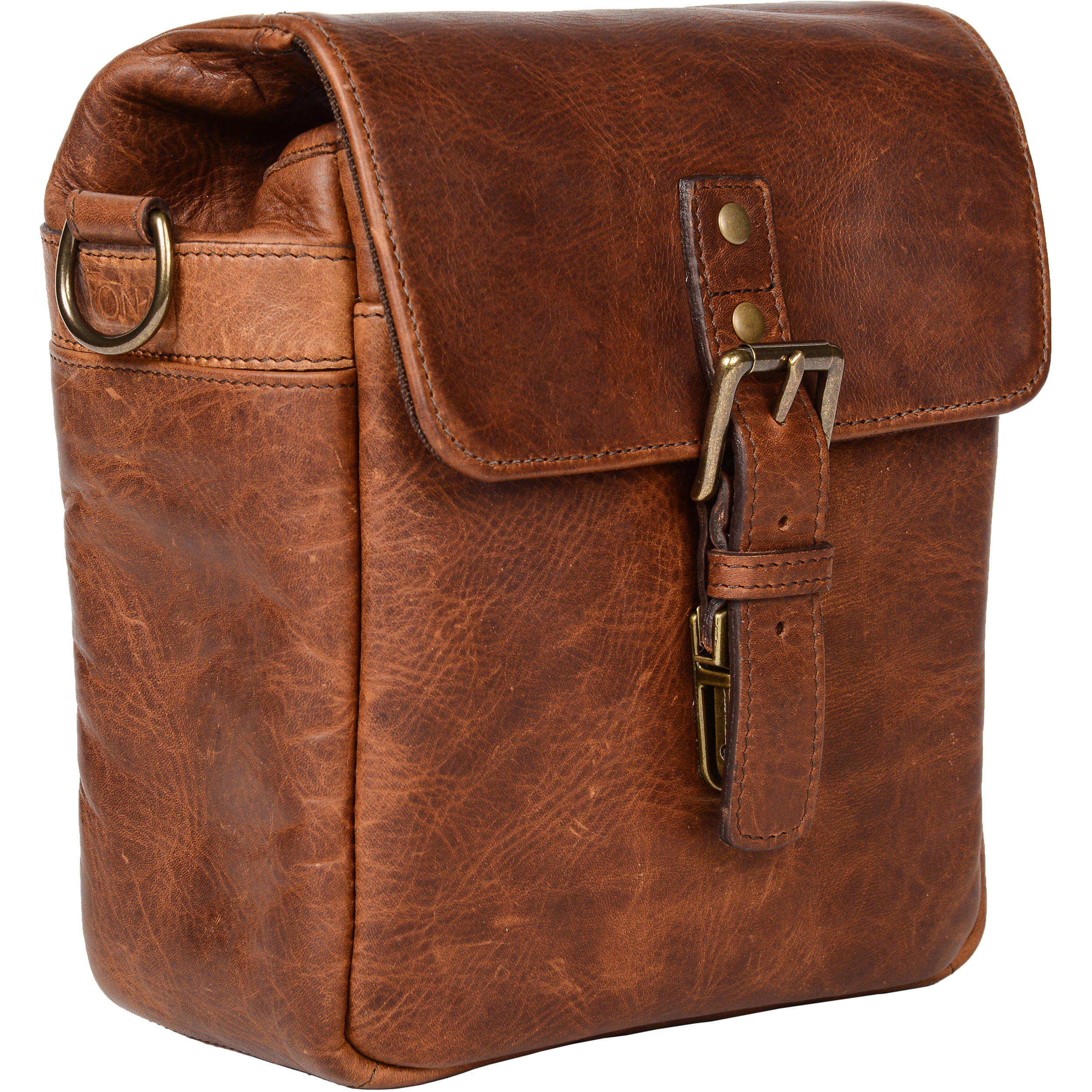 ONA Bond Street Leather Camera Bag (Antique Cognac) ONA5-064LBR