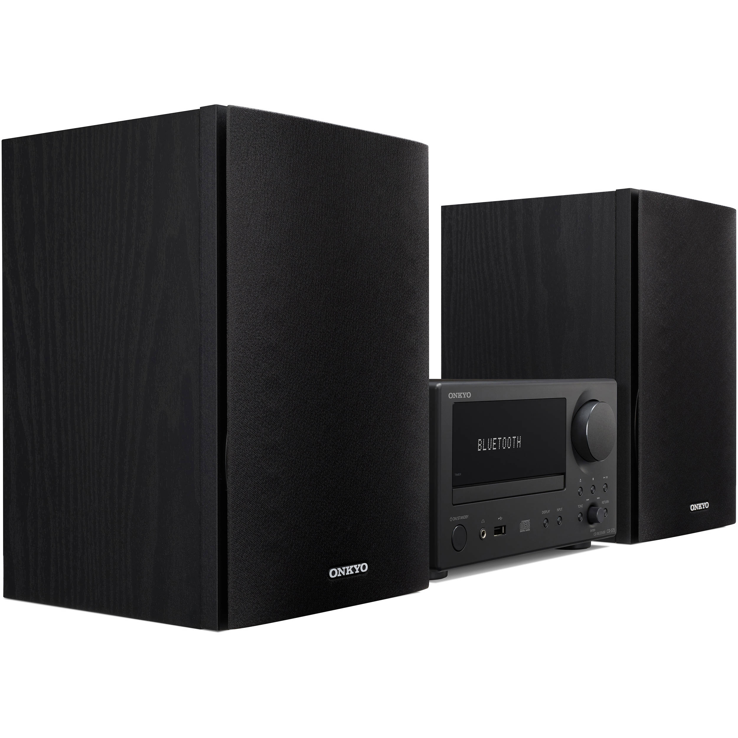 onkyo mini stereo system. onkyo cs-375 40w bluetooth wireless music system mini stereo