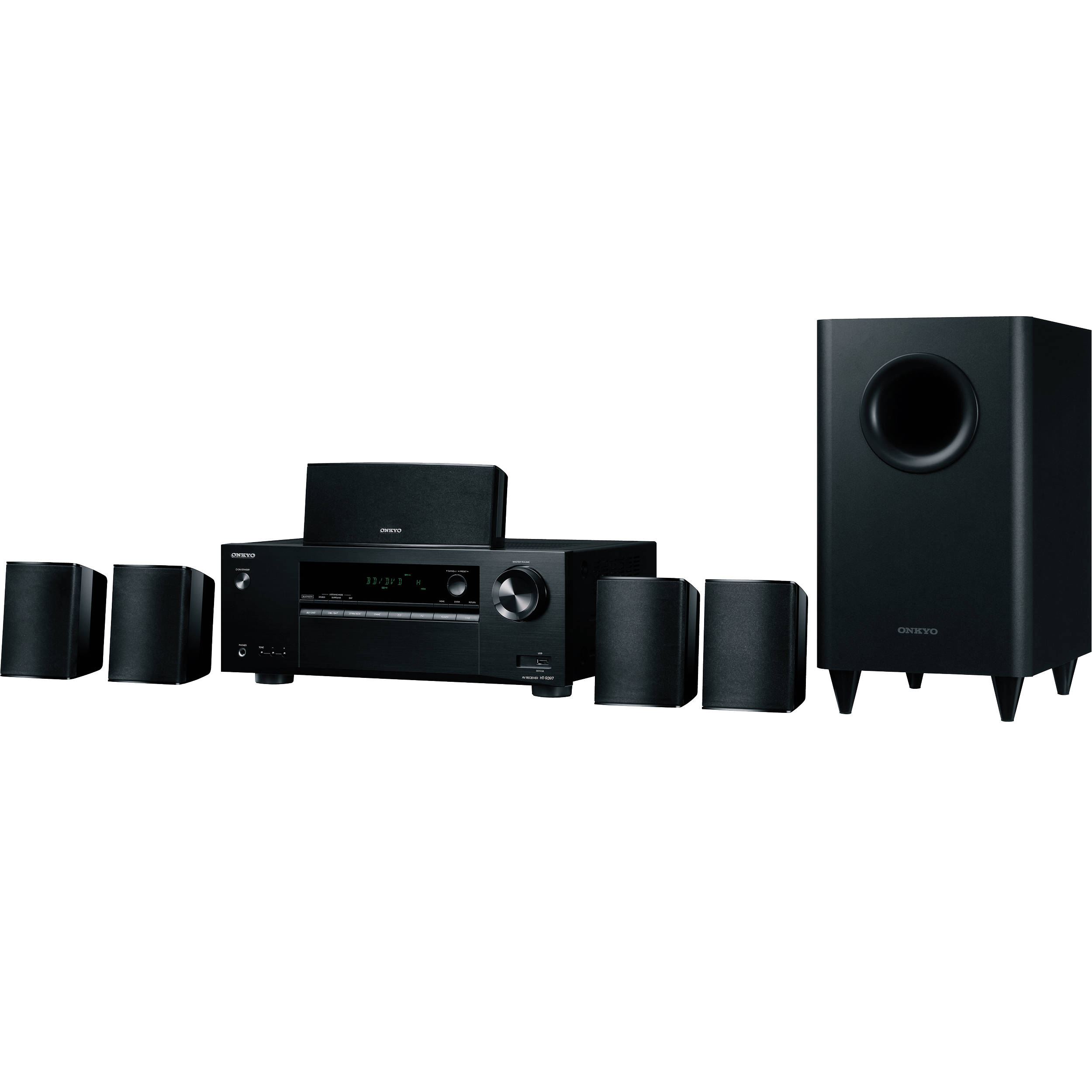 Onkyo Ht S Channel Home Theater System
