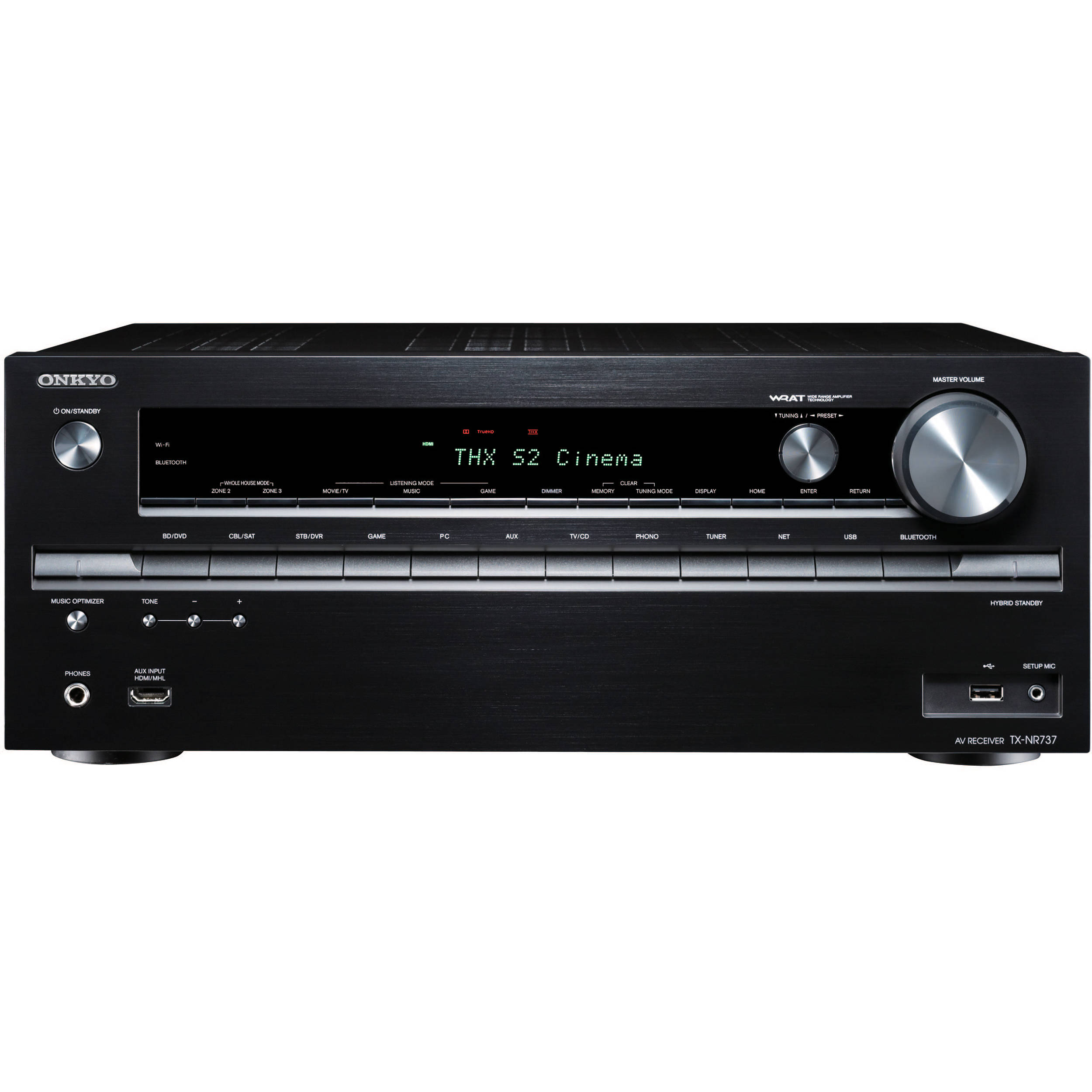 Onkyo TX-NR737 7.2-Channel Network AV Receiver