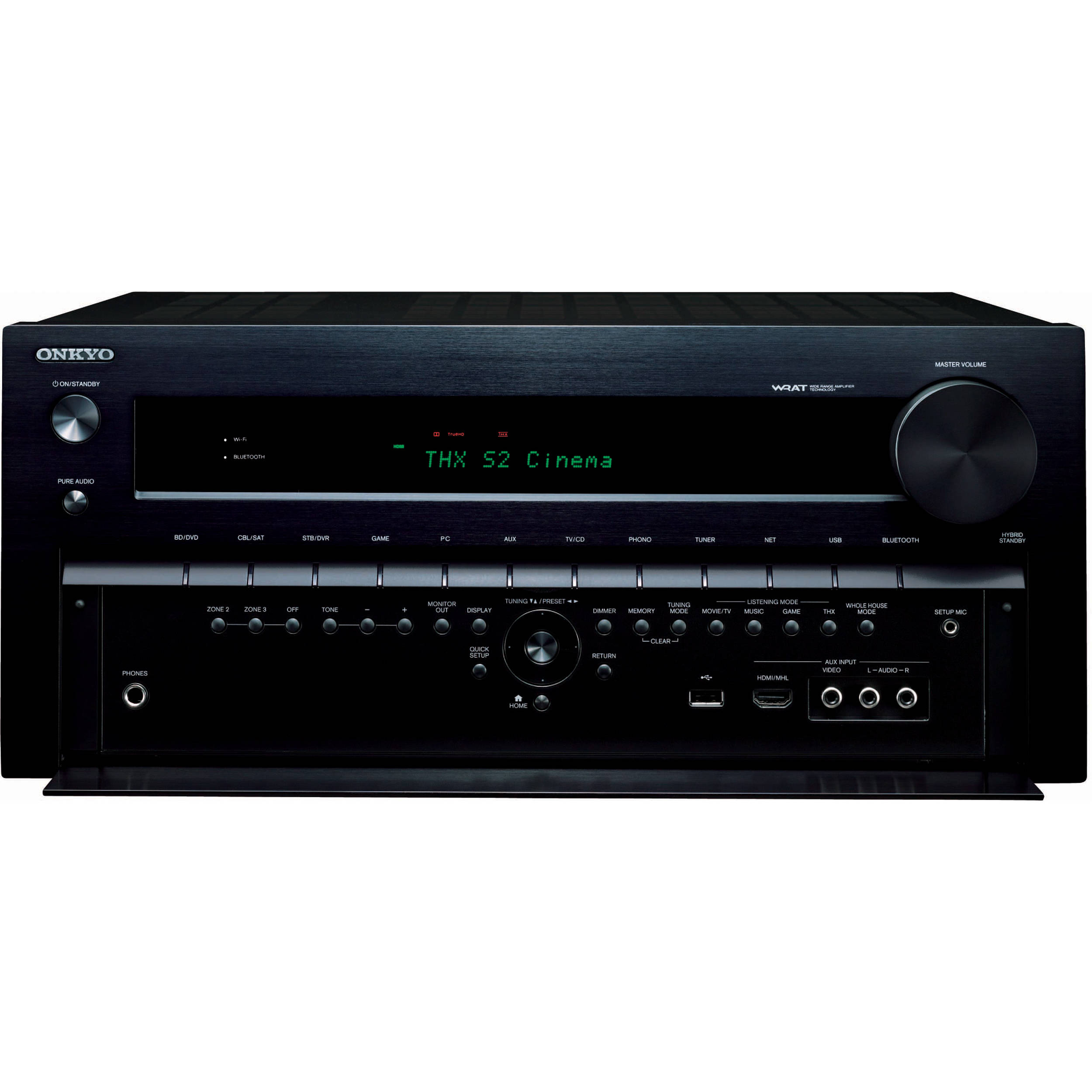 Onkyo tx nr838 7 2 channel  work a v on thx audio system