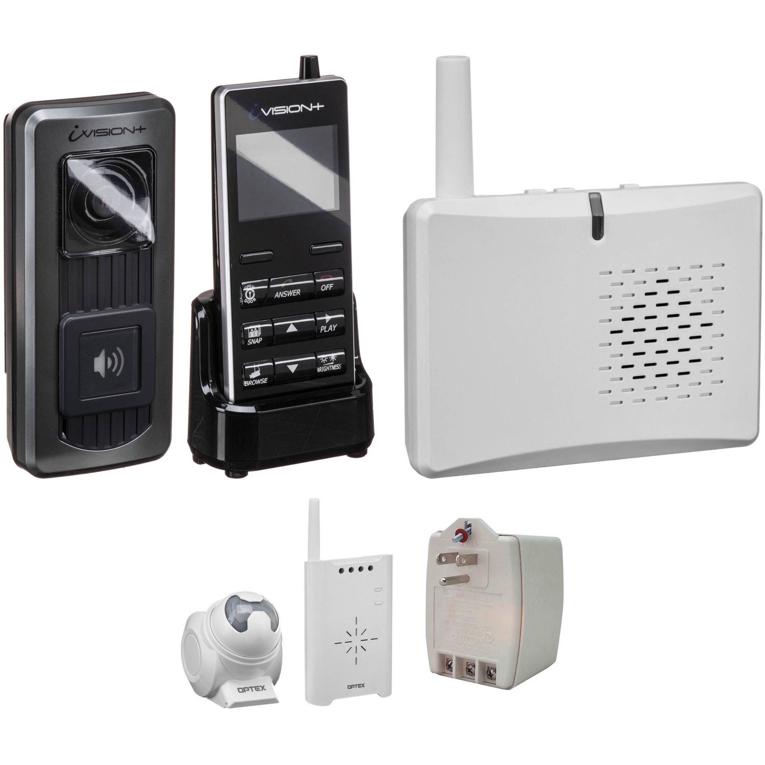 Optex Ivision Wireless Intercom Annunciator And Ivp