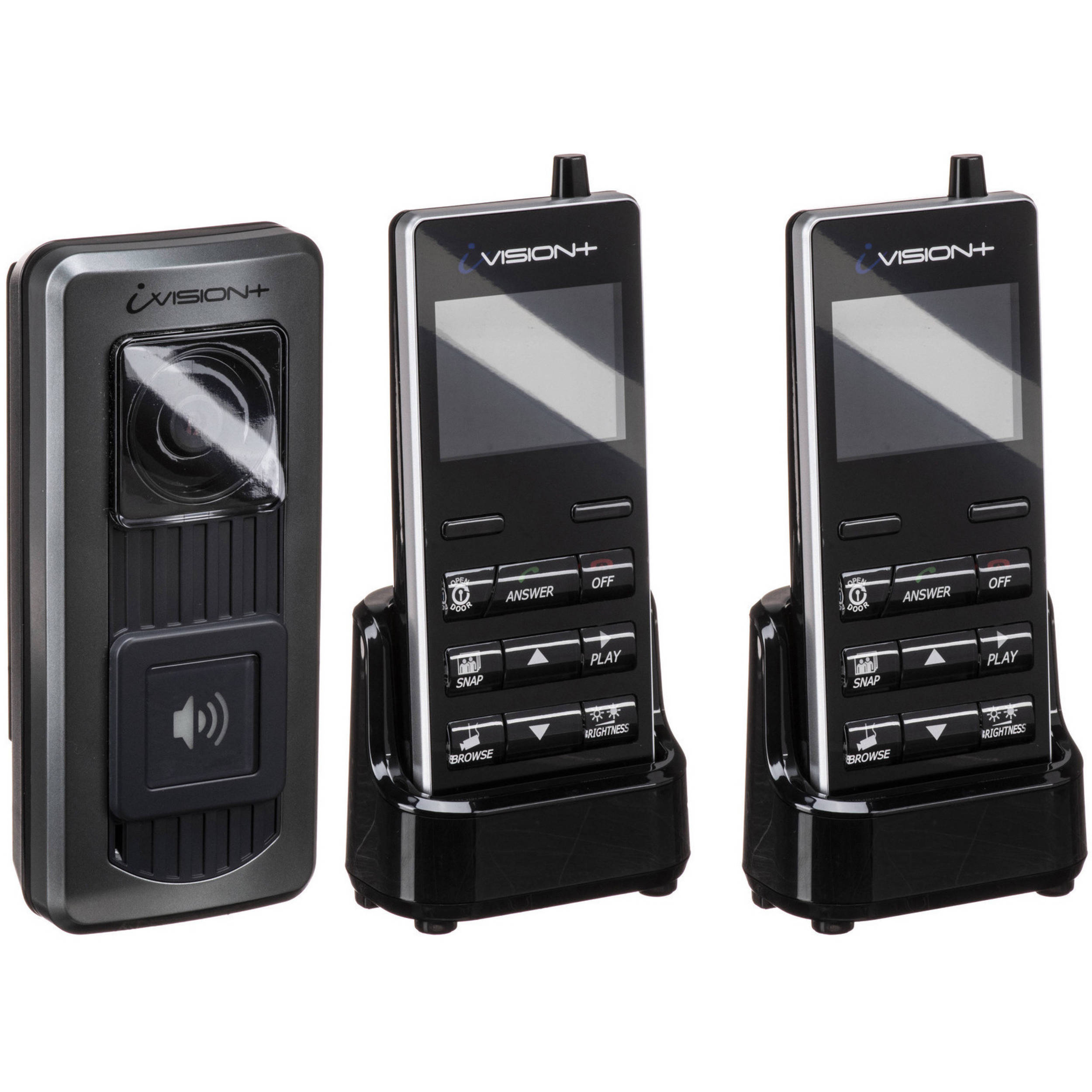 Optex Ivision Wireless Intercom System Kit With Additional Bh Circuit Handheld Unit