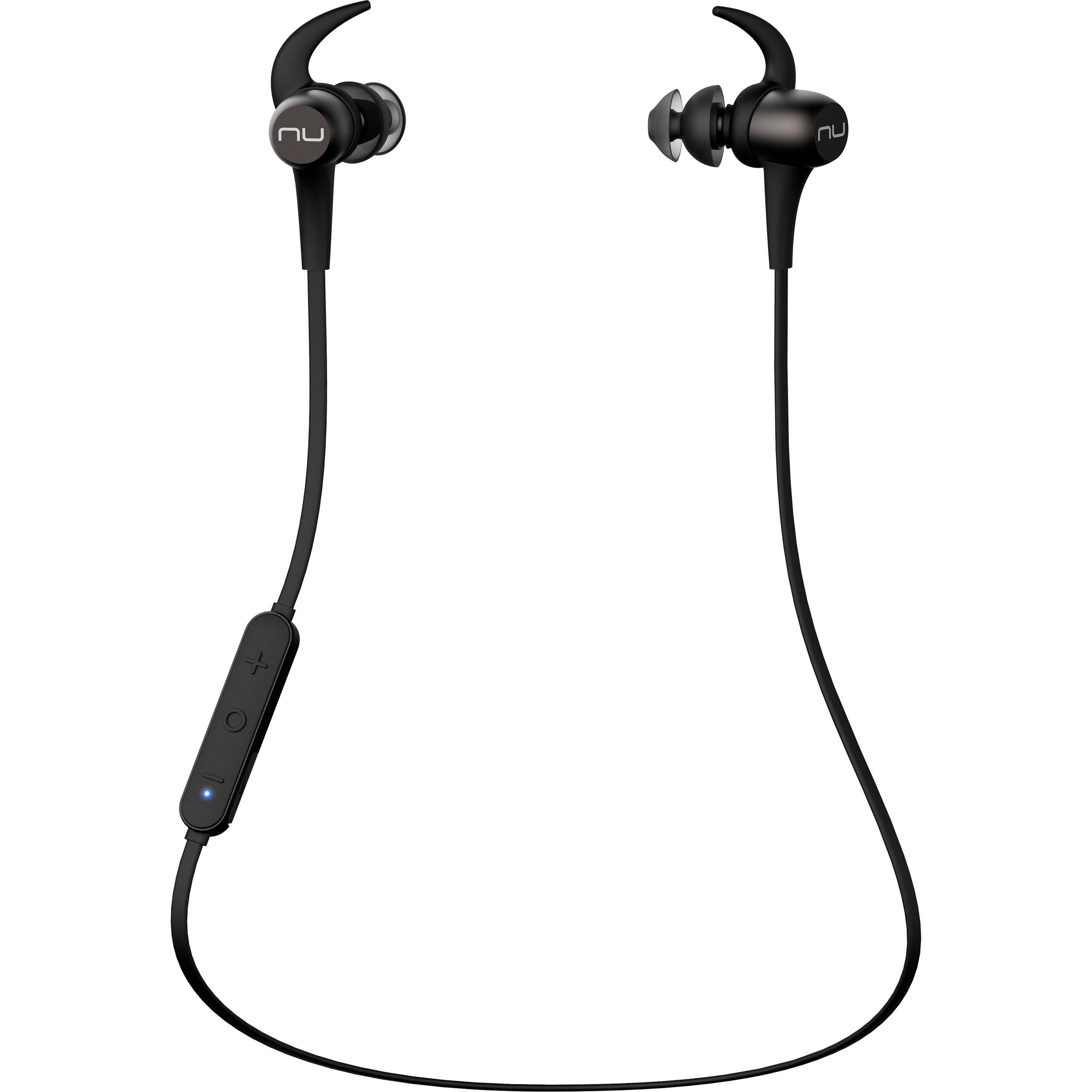 3870125ebec NuForce BE Sport3 Wireless In-Ear Sports BESPORT3-GUNMETAL B&H