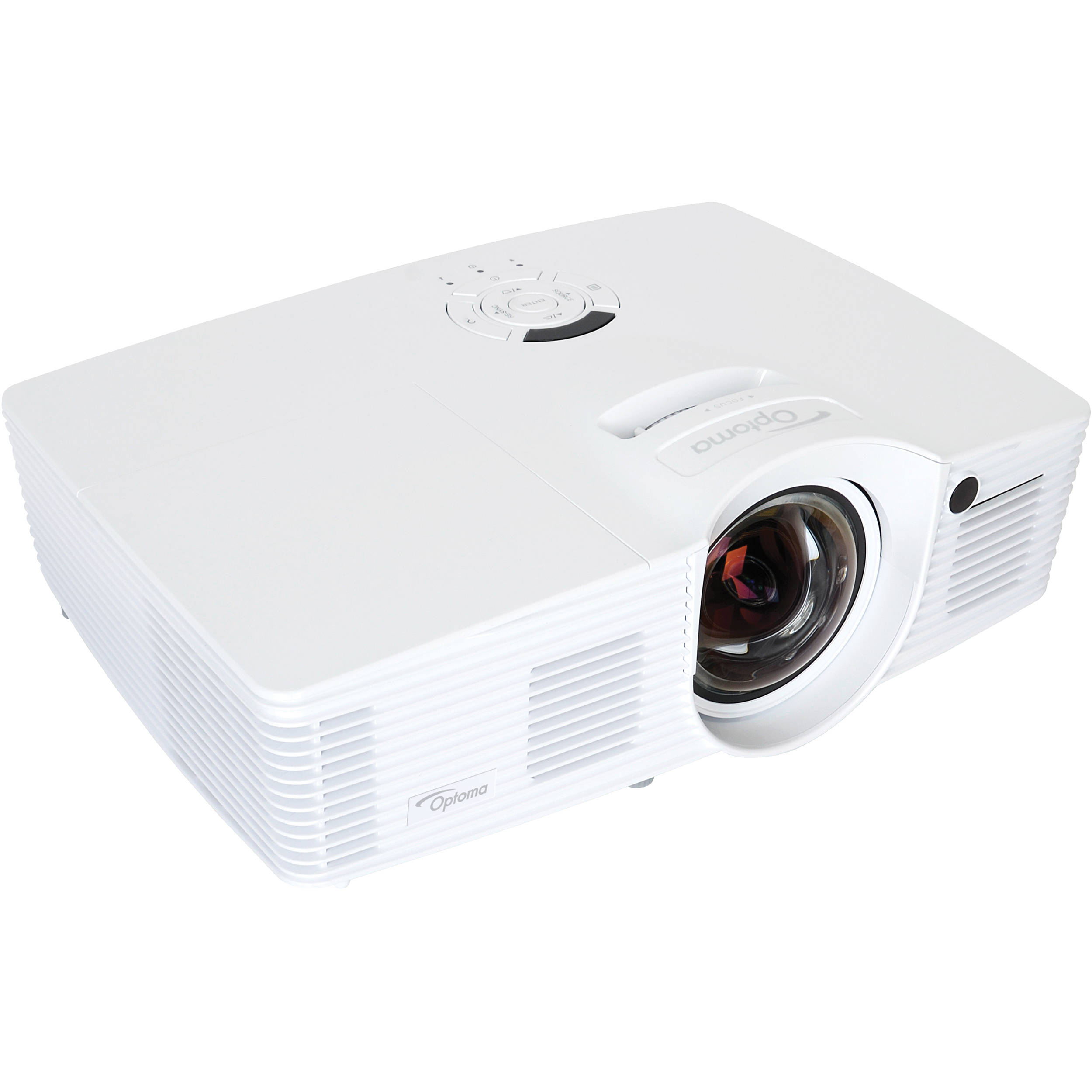 Optoma technology eh200st 3000 lumen full hd 3d eh200st b h for Hd video projector