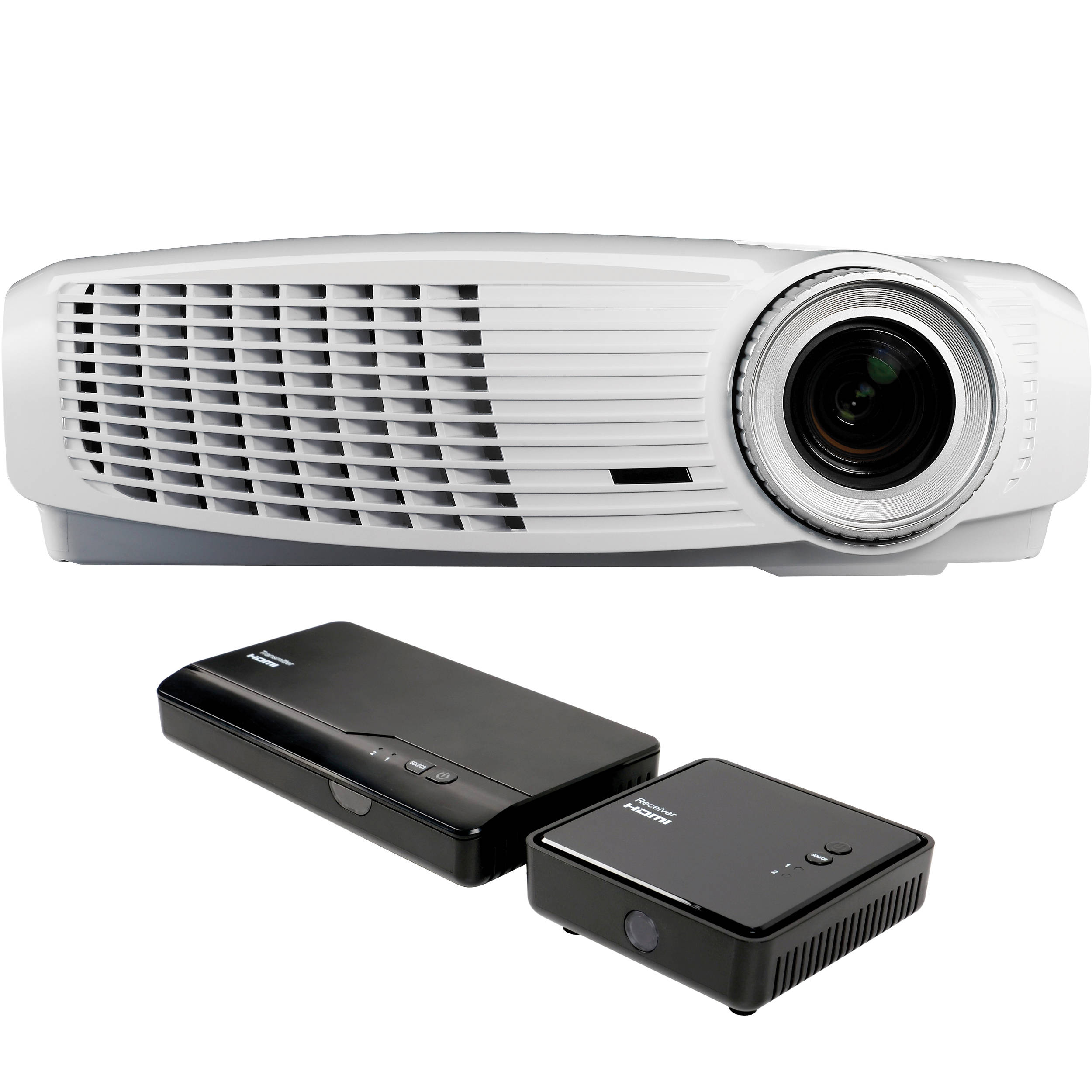 Optoma technology hd25lv whd full hd dlp home hd25 lv whd b h for Hd projector