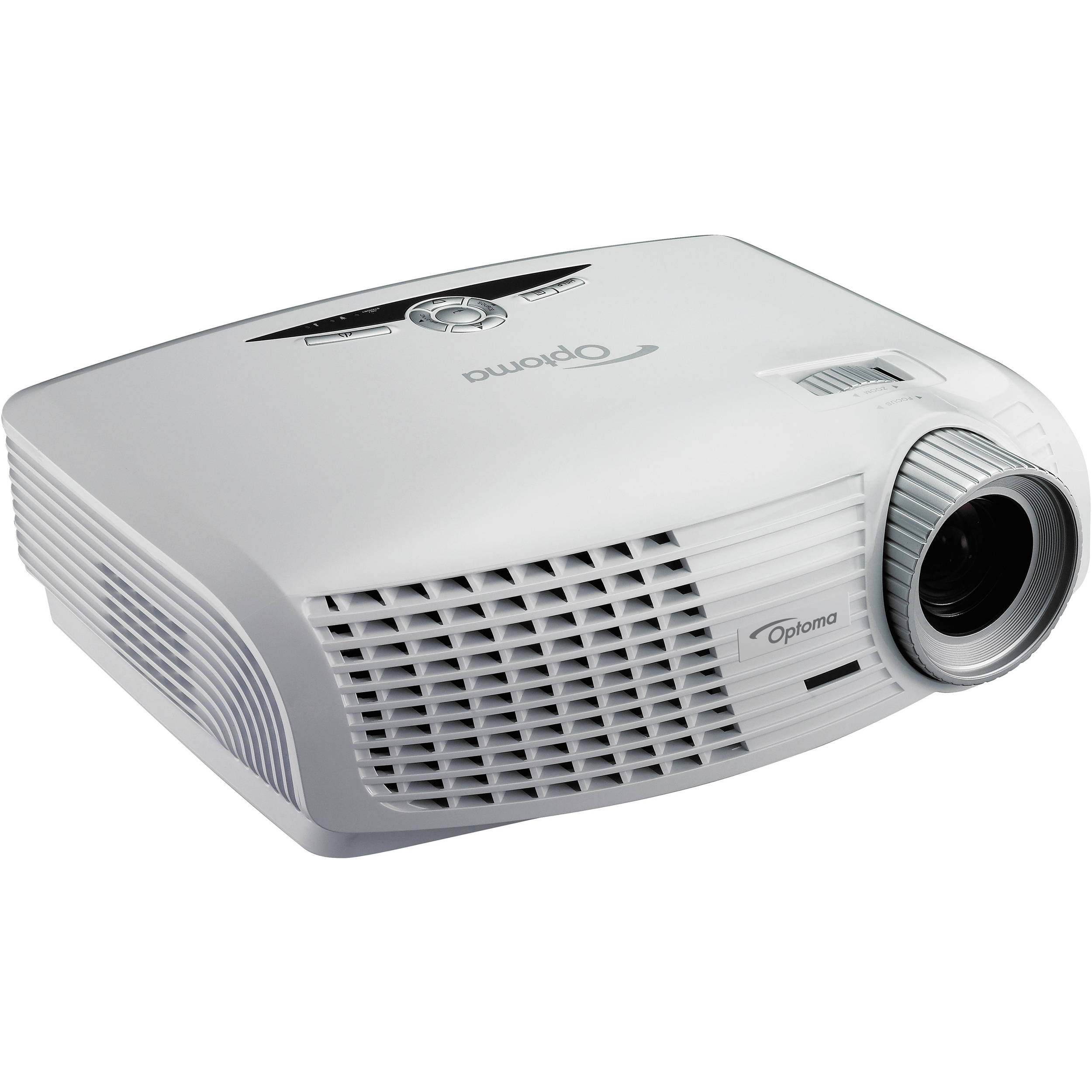 Optoma technology hd25e full hd 1080p dlp 3d projector for Hd video projector