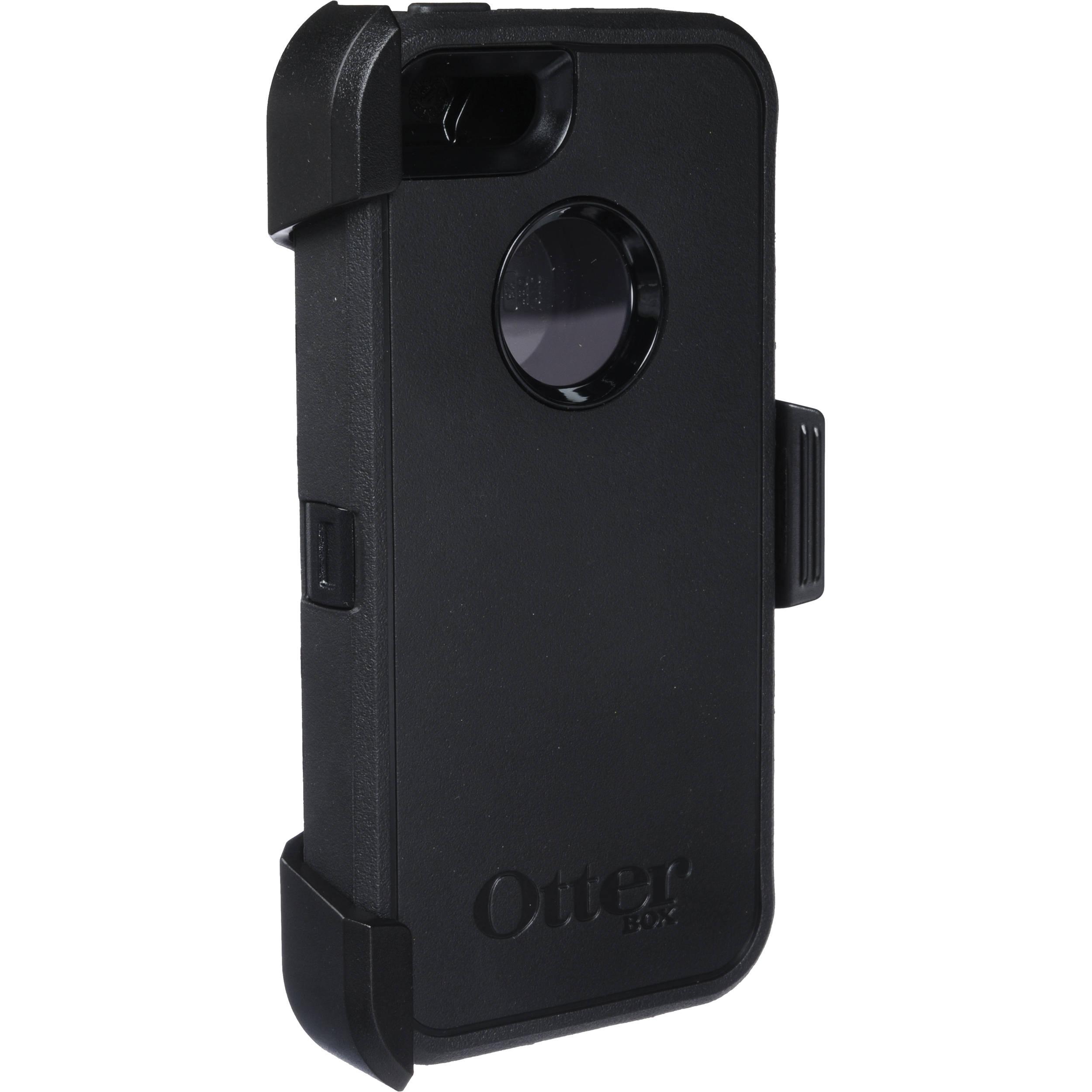 Otter Box Defender Case for iPhone 5/5s/SE (Black) 77-33322 Bu0026H