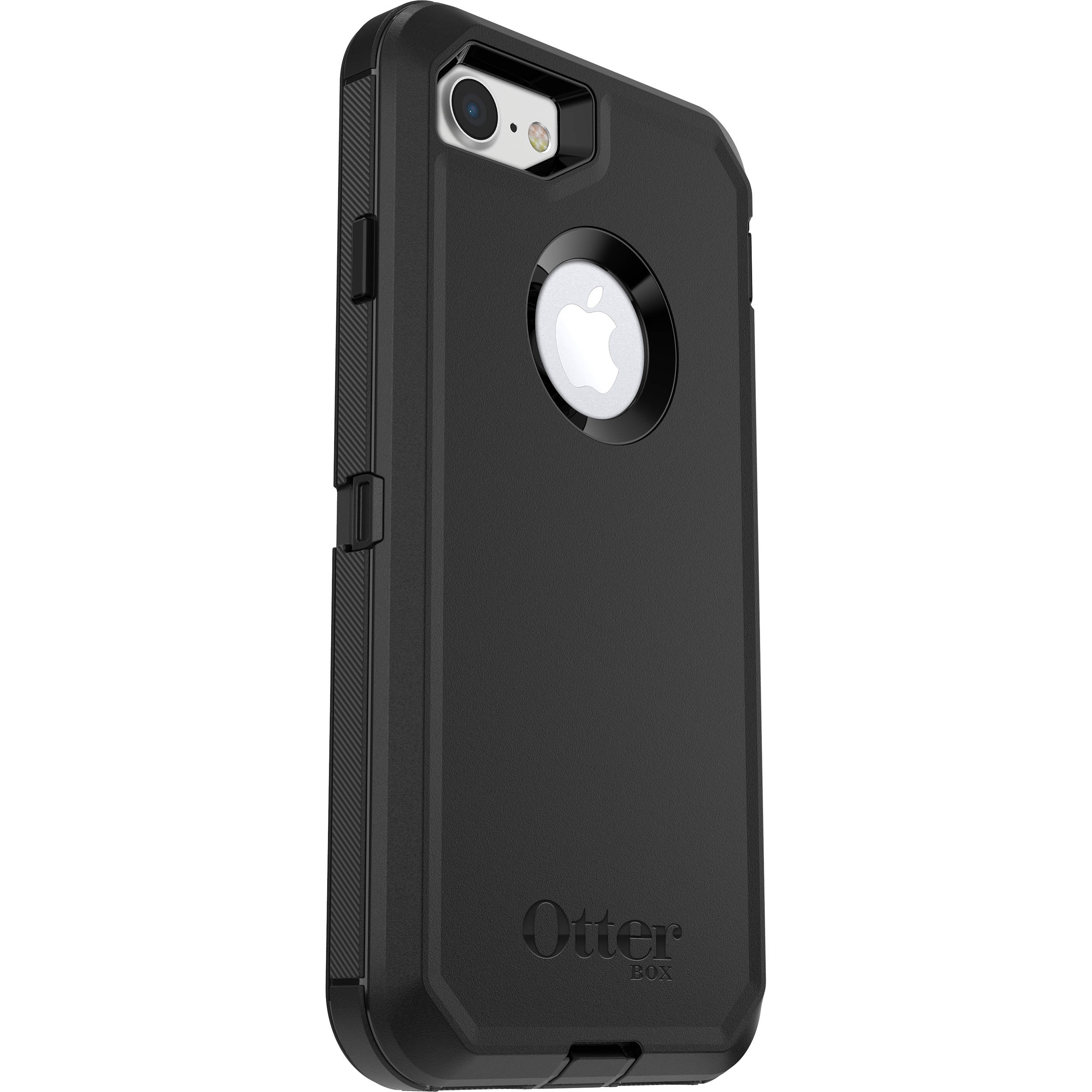 6c5d21c1a98 OtterBox Defender Series Case for iPhone 7/8 (Black) 77-56603