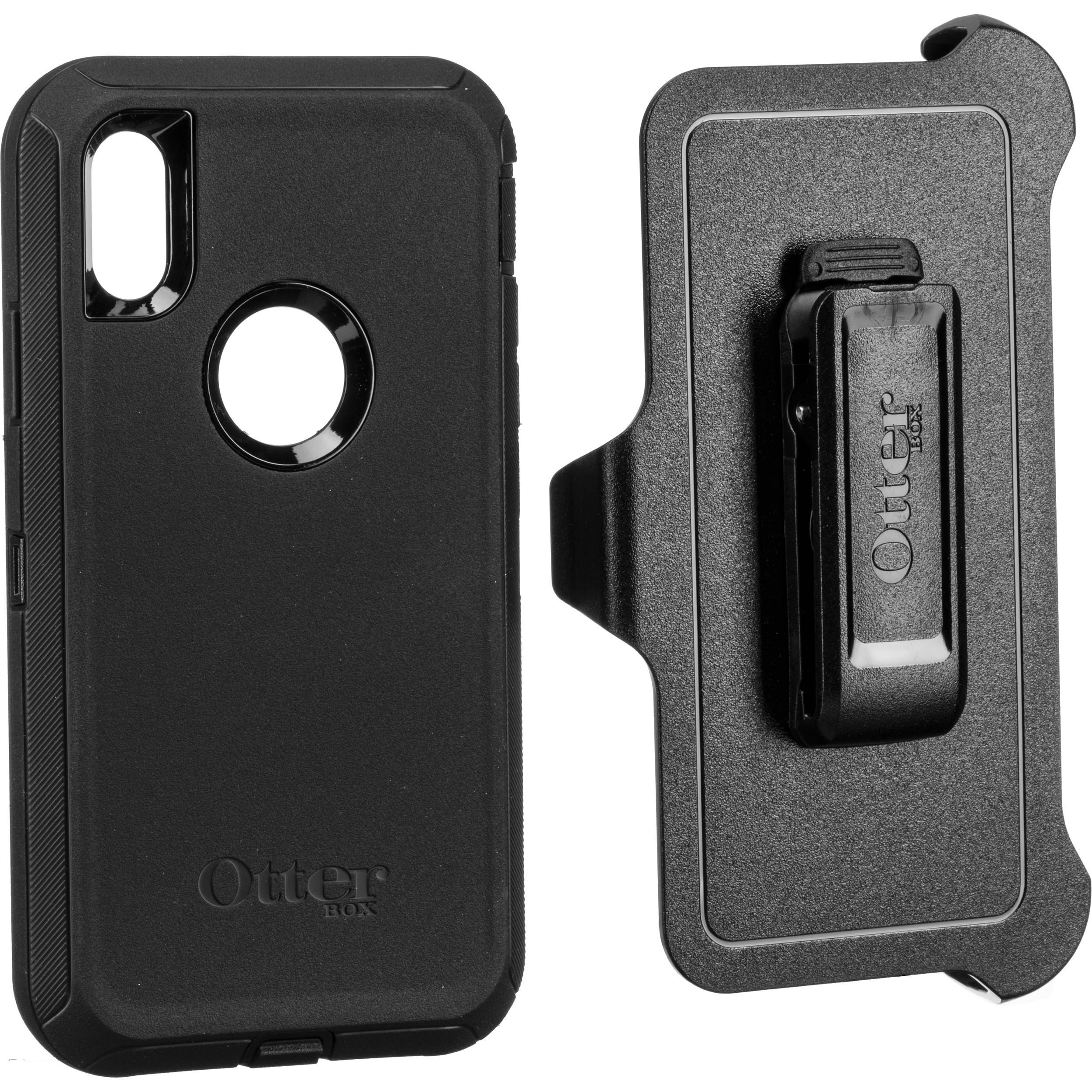 Otterbox Defender Series Case For Iphone Xr Black 77 59761 B H
