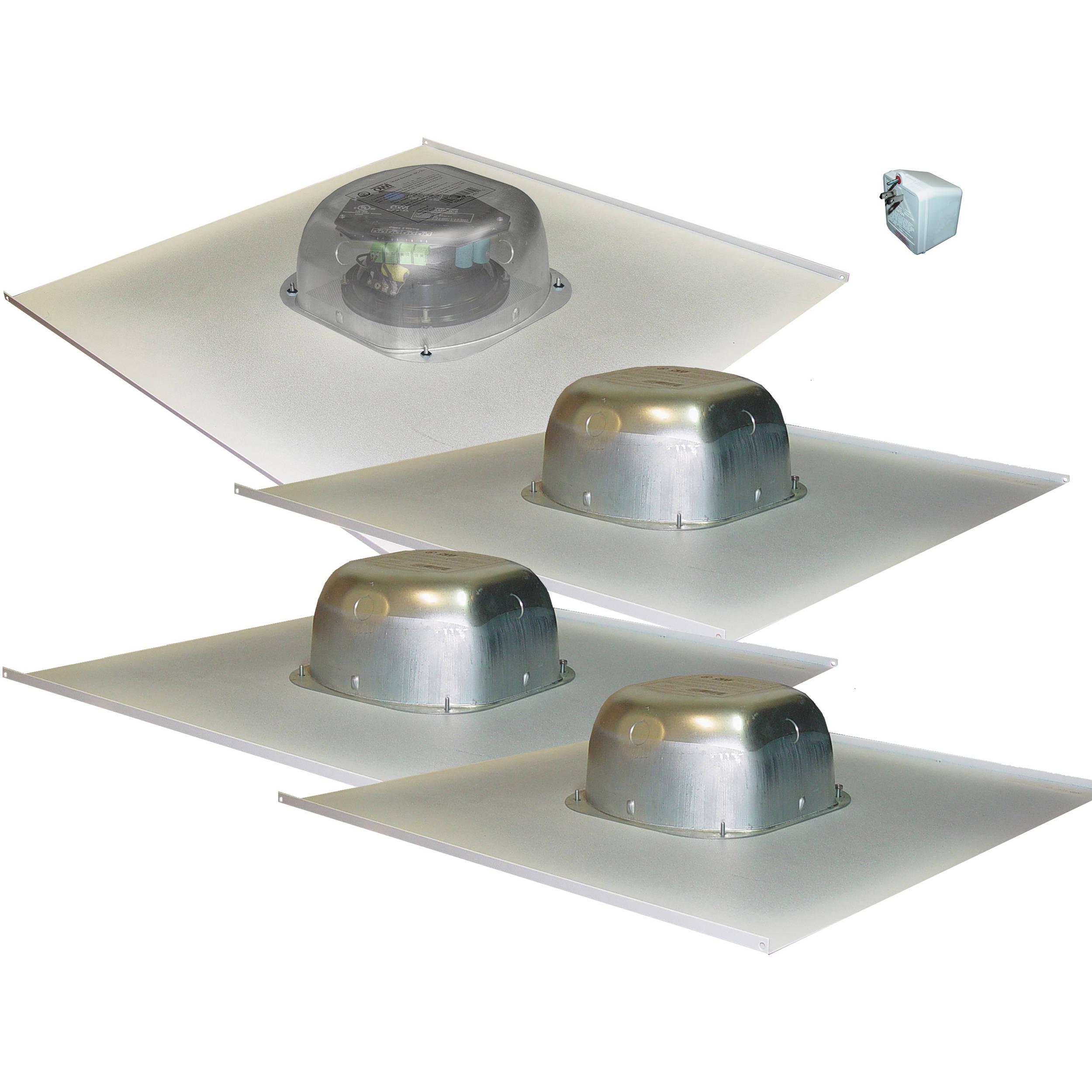 2x2 Drop In Ceiling Lights : Owi inc amplified drop ceiling speaker on a