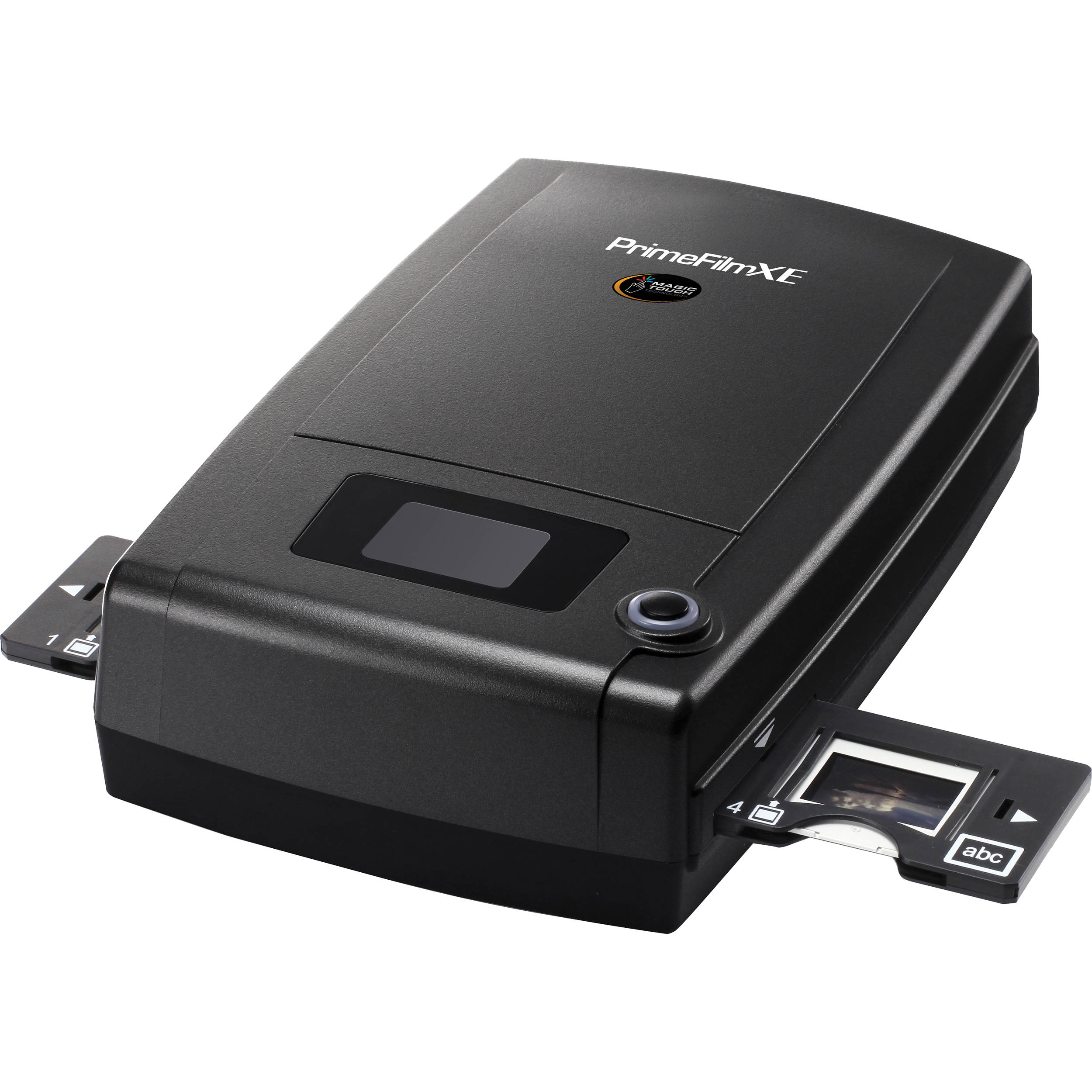 Pacific Image PrimeFilm XE 35mm Film & Slide Scanner - One-touch scan button, 3-line RGB linear CCD sensor, 10,000 x 10,000 dpi, 48-bit