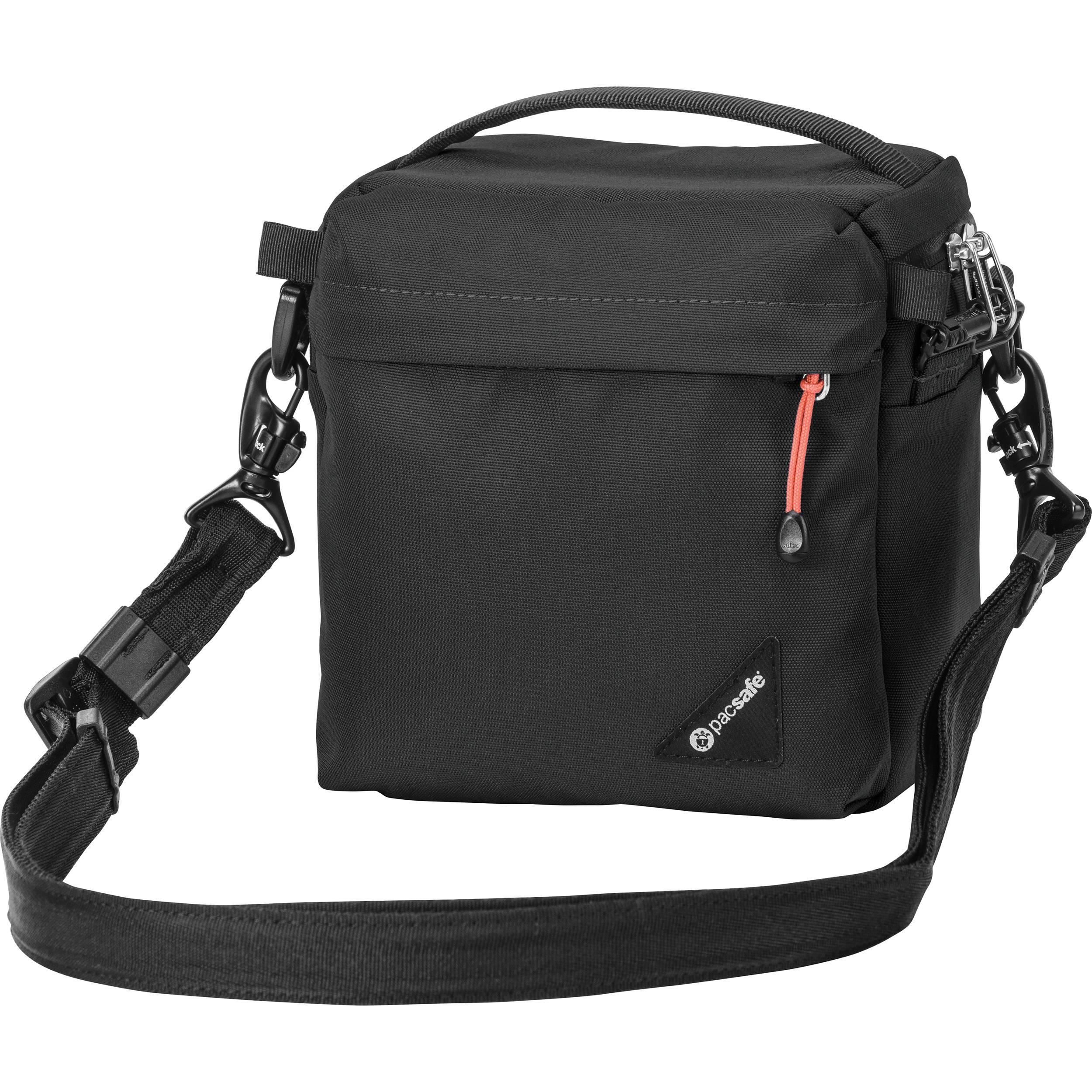 Pacsafe Camsafe Lx3 Anti Theft Compact Camera Bag Black