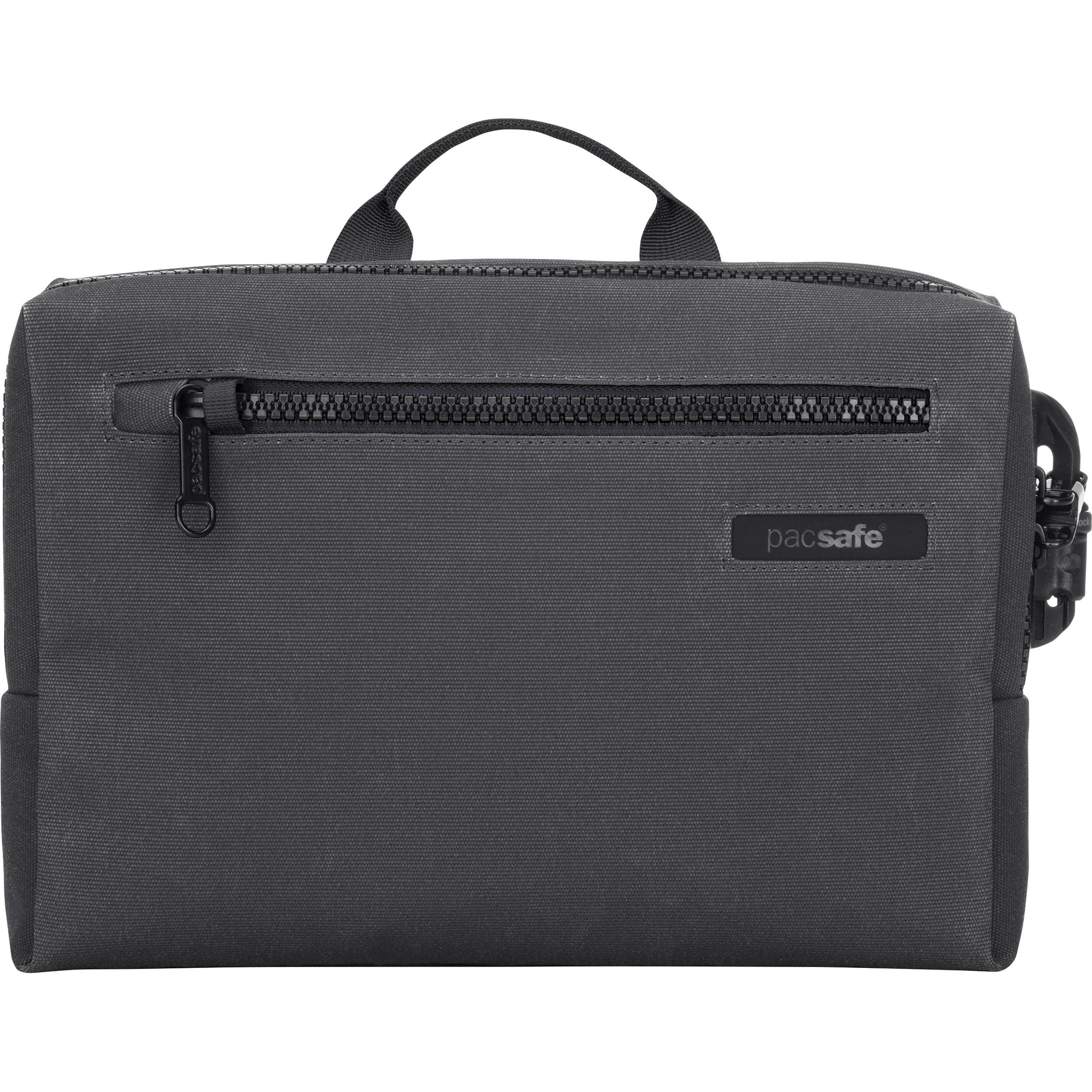 Pacsafe Intasafe Brief Anti Theft Cross Body Laptop Bag 25101104 Notebook Protector Charcoal